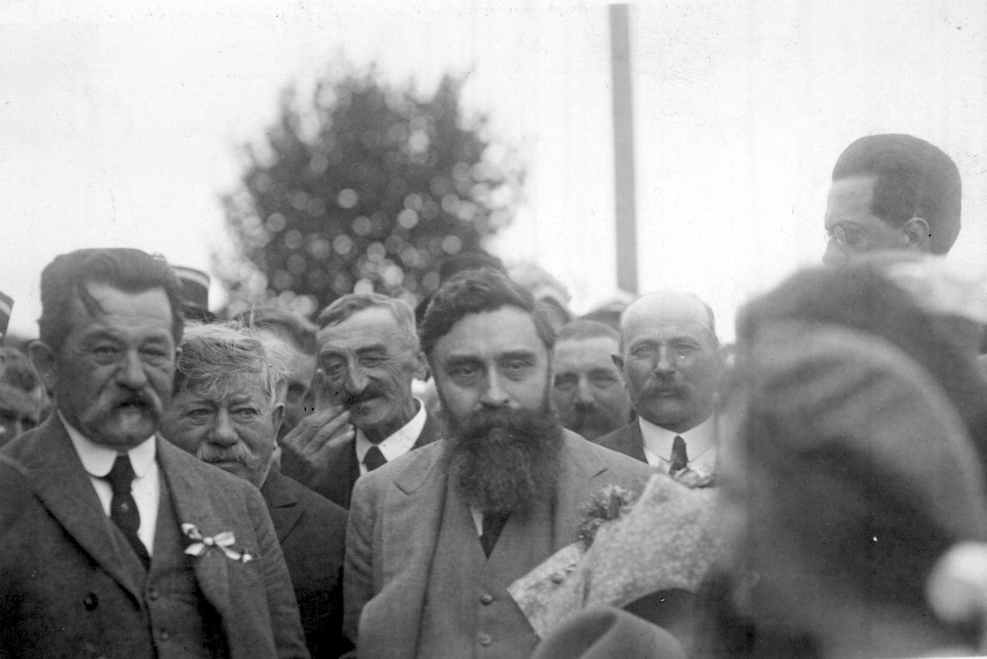 Alexandre Varenne, à l'inauguration du tramway à Ceyrat