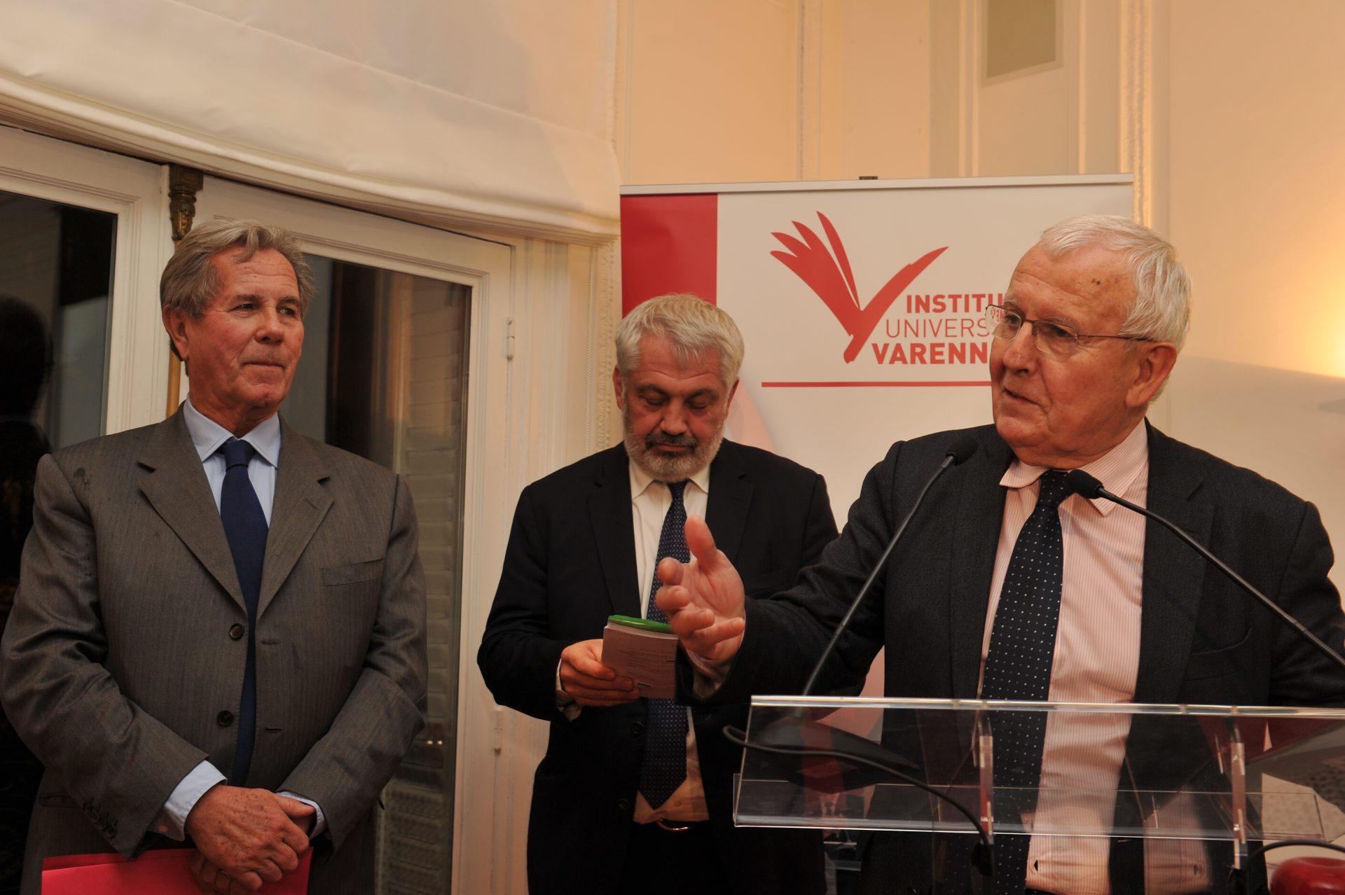 Discours de bienvenue de Monsieur Daniel Pouzadoux, Président de la Fondation Varenne
