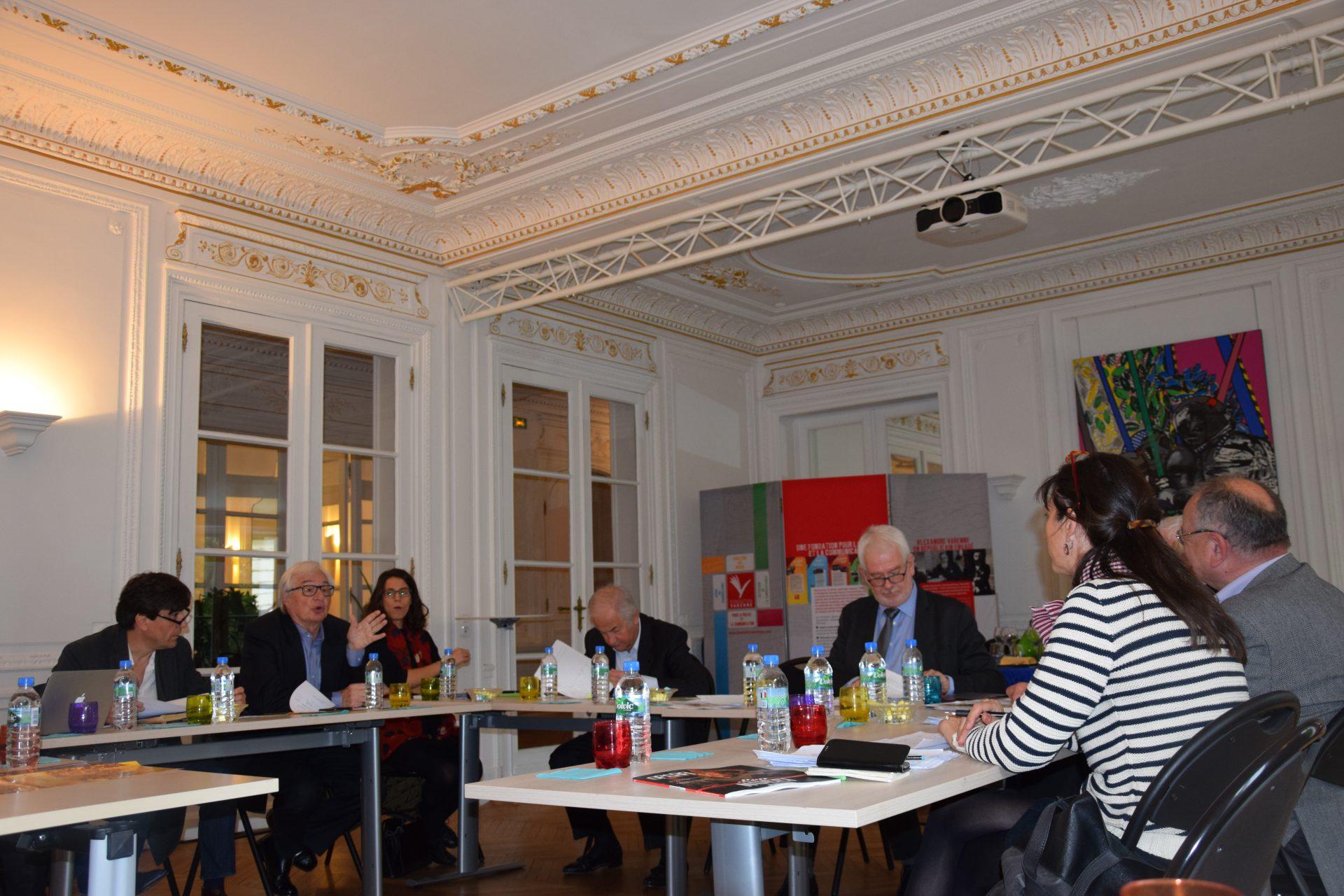 Jury Presse quotidienne départementale - Sophie BECHEREL (France Inter), Maud GRILLARD (SPQD), Jean VIANSSON-PONTÉ (SPQR)