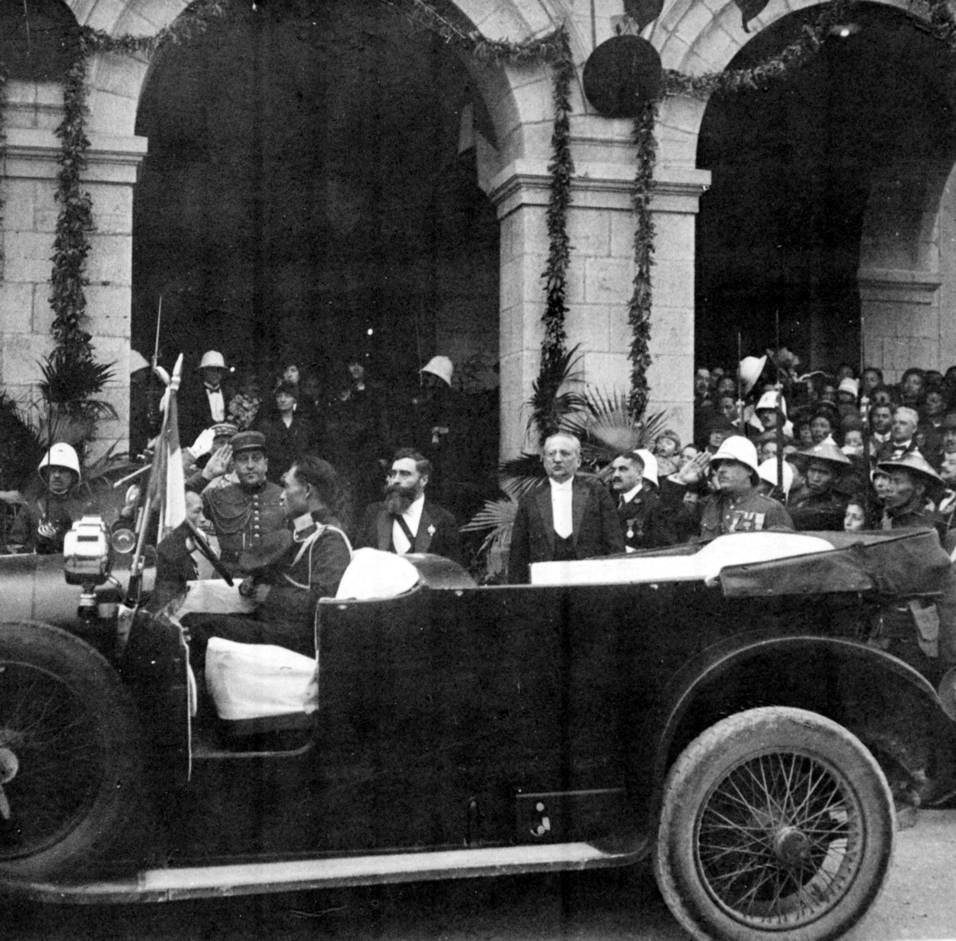 Arrivée d'Alexandre Varenne à Pnom-Penh le 05 Décembre 1925
