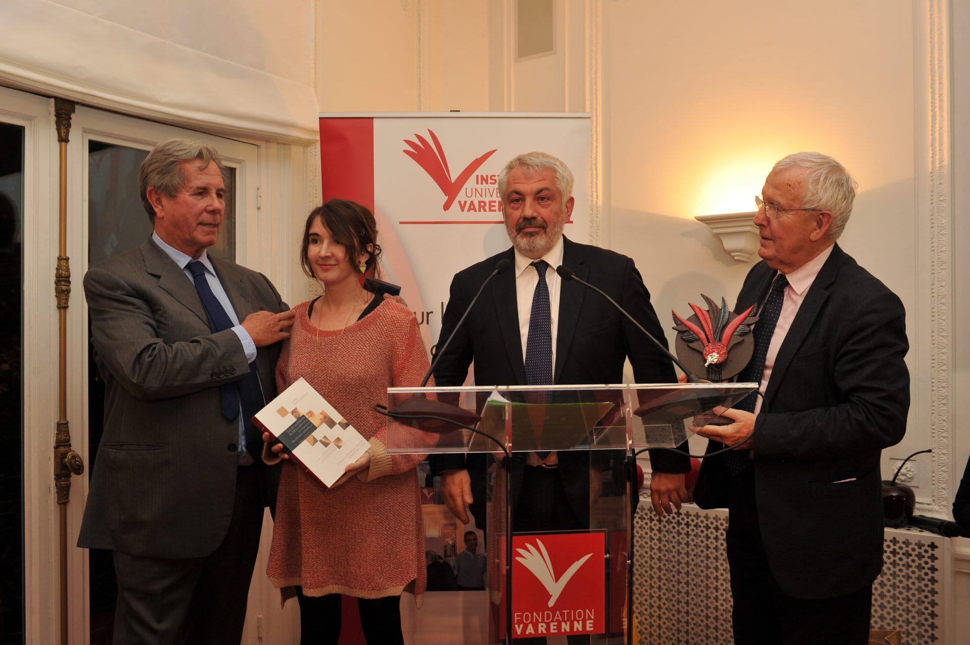 Juliette Charbonneaux, Lauréate dans la catégorie Science de l'information et de la communication