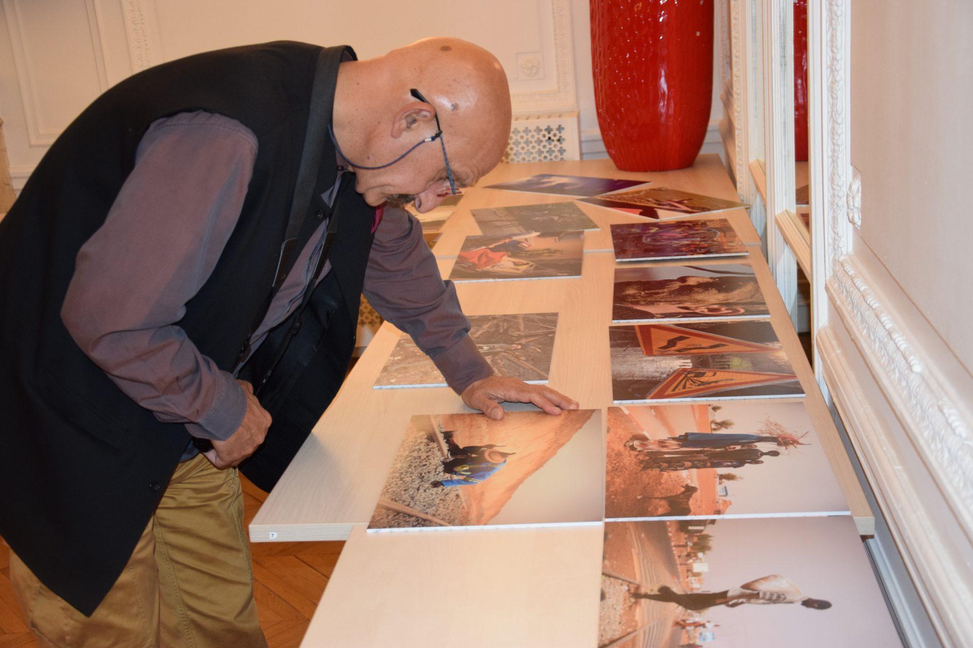 Reza le président du jury photo