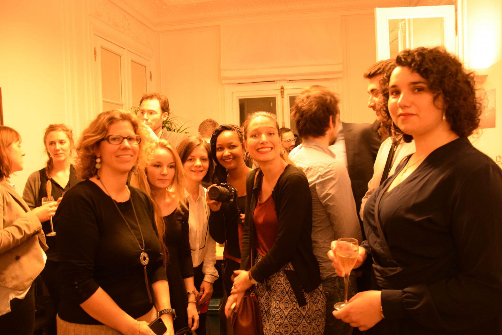 Les lauréats juste avant la remise de leur prix