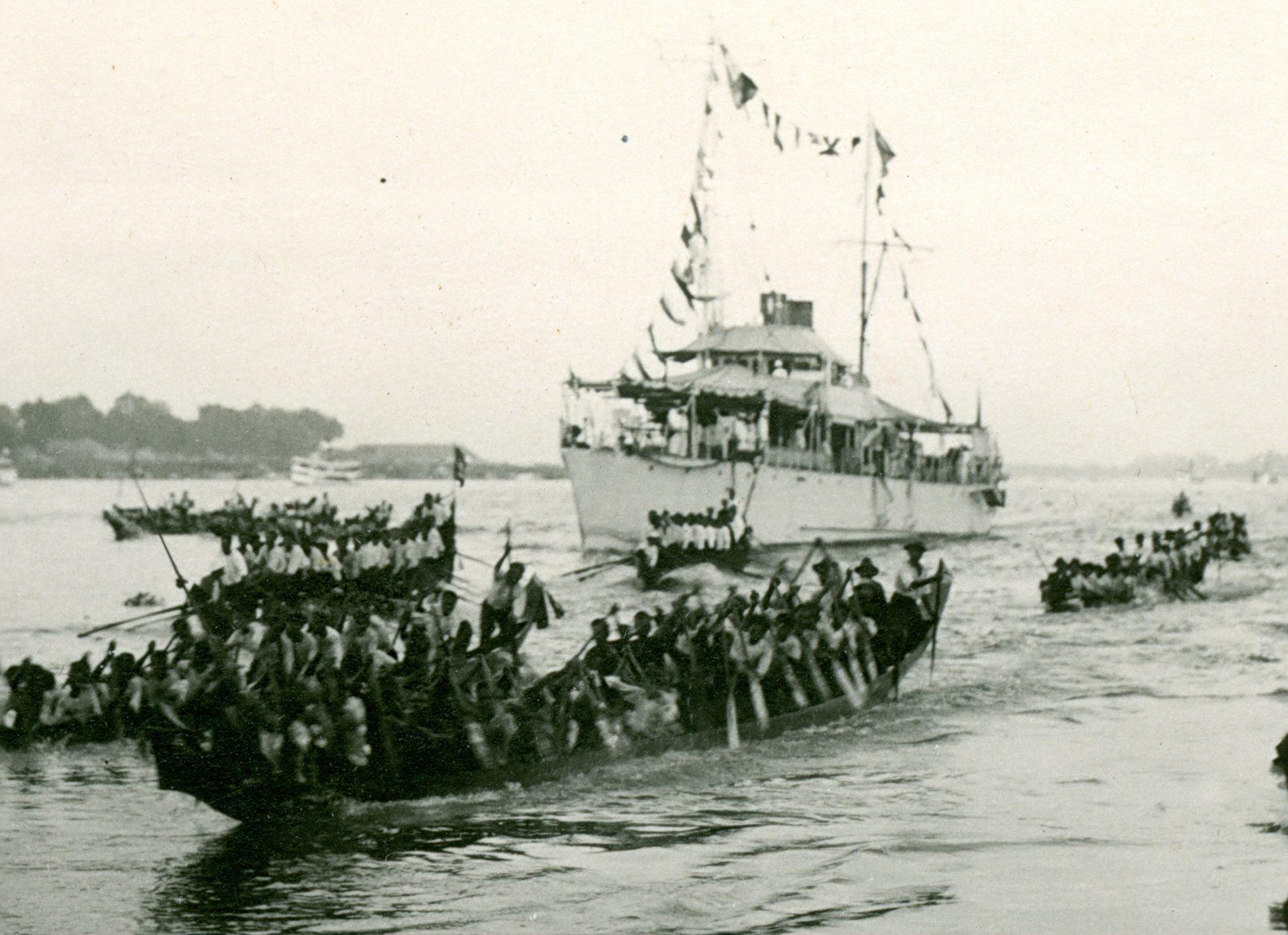 Arrivée à Pnom-Penh, le 23 Novembre 1925