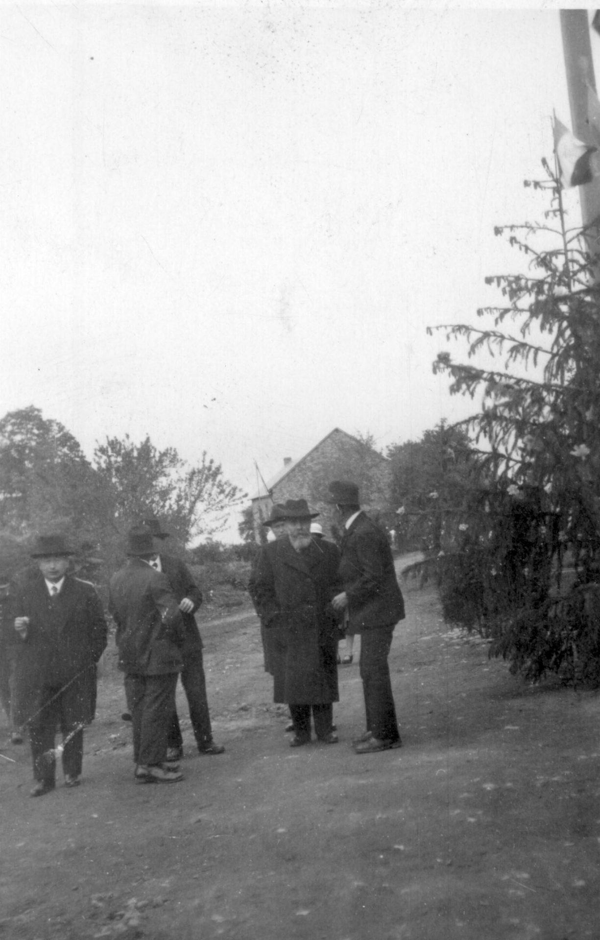 Alexandre Varenne inaugure l'école mixte de La Fauve - 29 Mai 1933