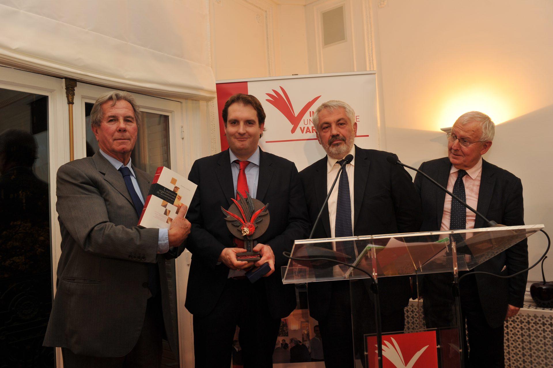 Matthieu Caron, Lauréat dans la catégorie Concepts fondamentaux du droit constitutionnel