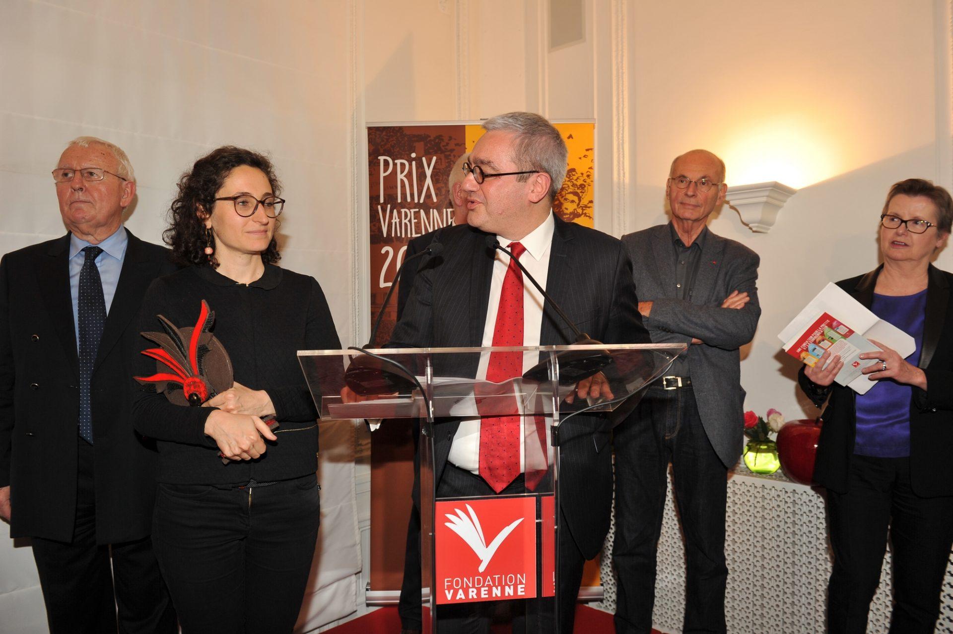Coline ARBOUET Prix Varenne 2015 PHR