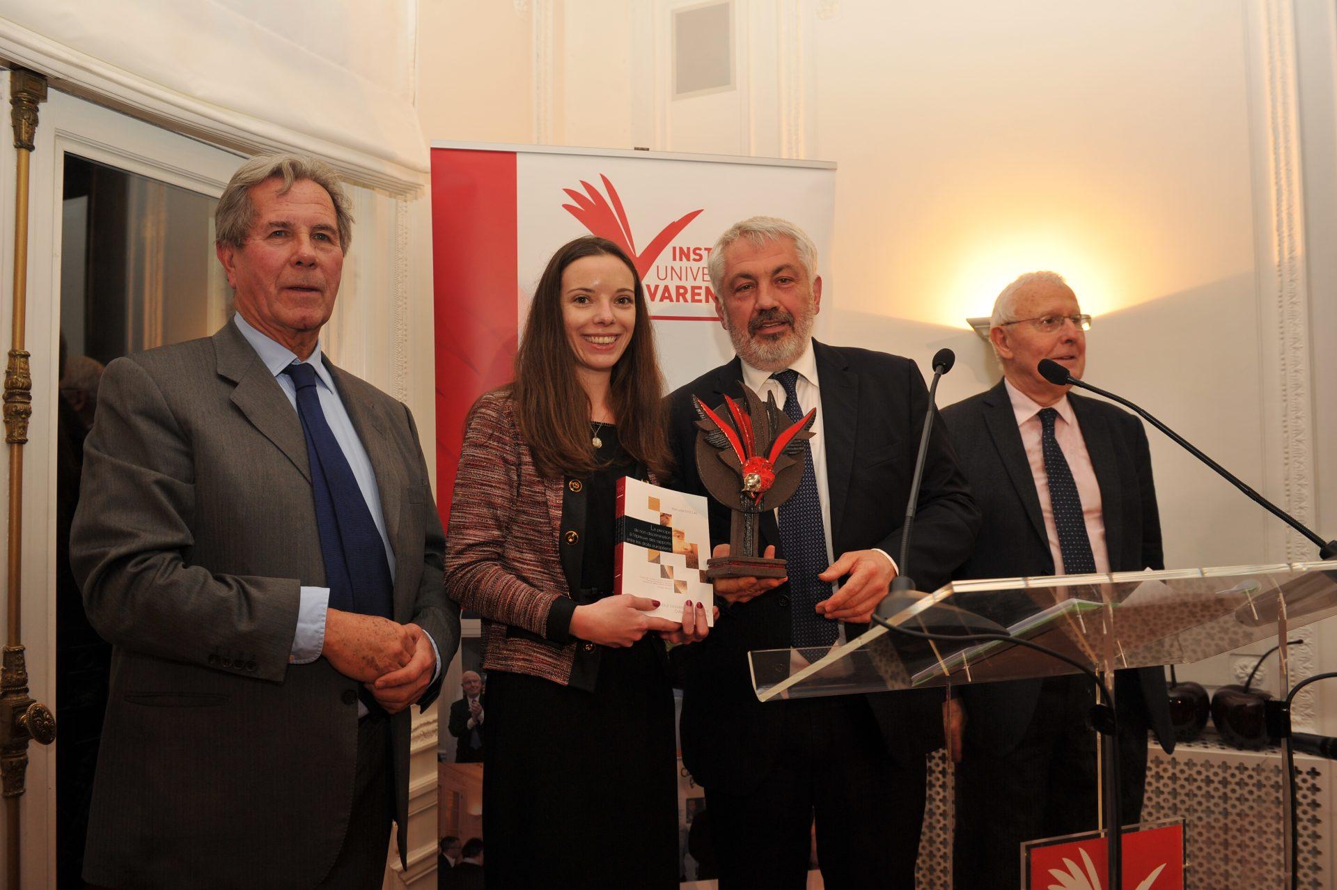 Manuela Brillat, Lauréate dans la catégorie Protection interne, européenne et internationale