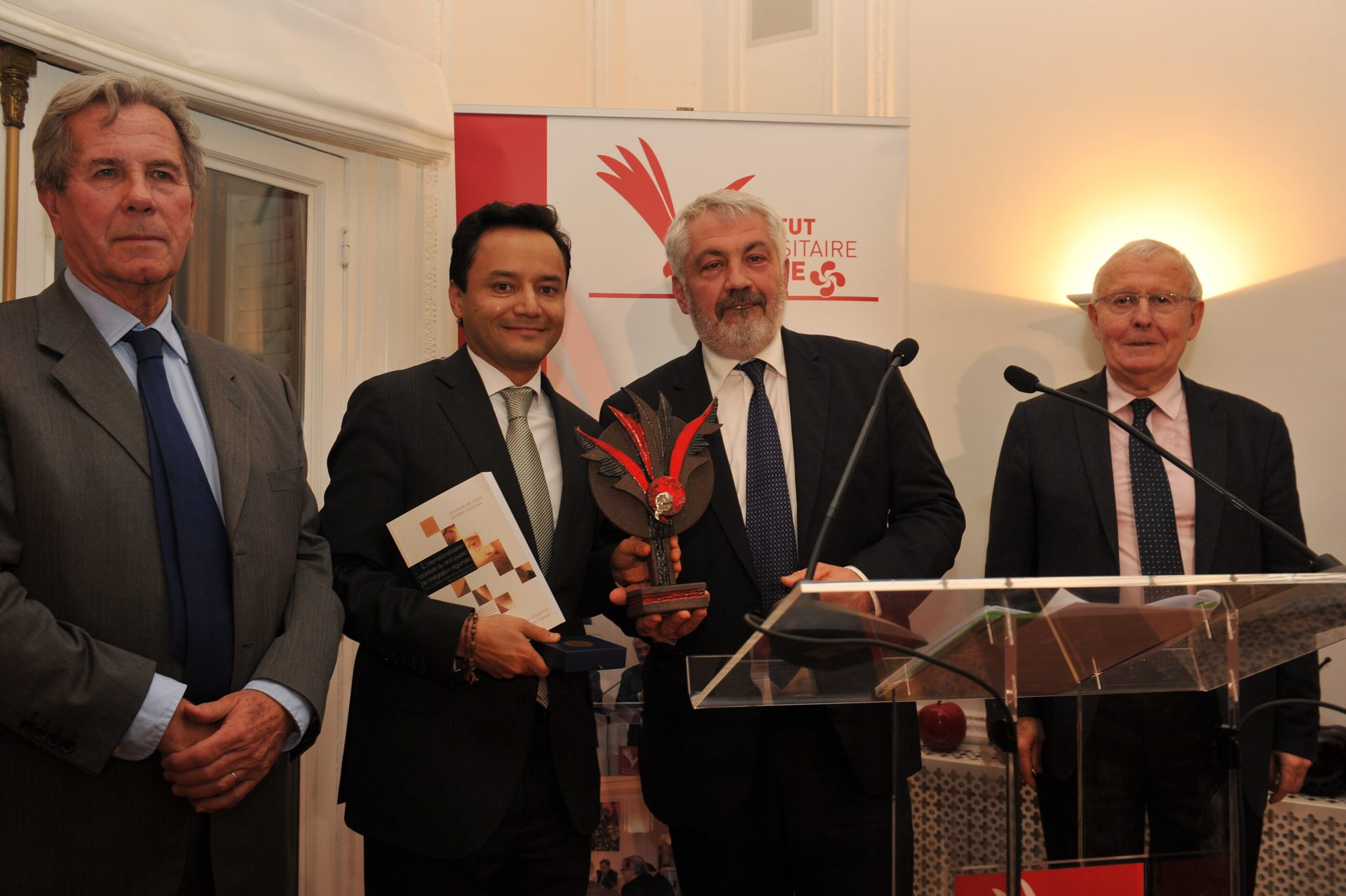 Grenfieth de Jesus Sierra Cadena, Lauréat dans la catégorie Droit européen