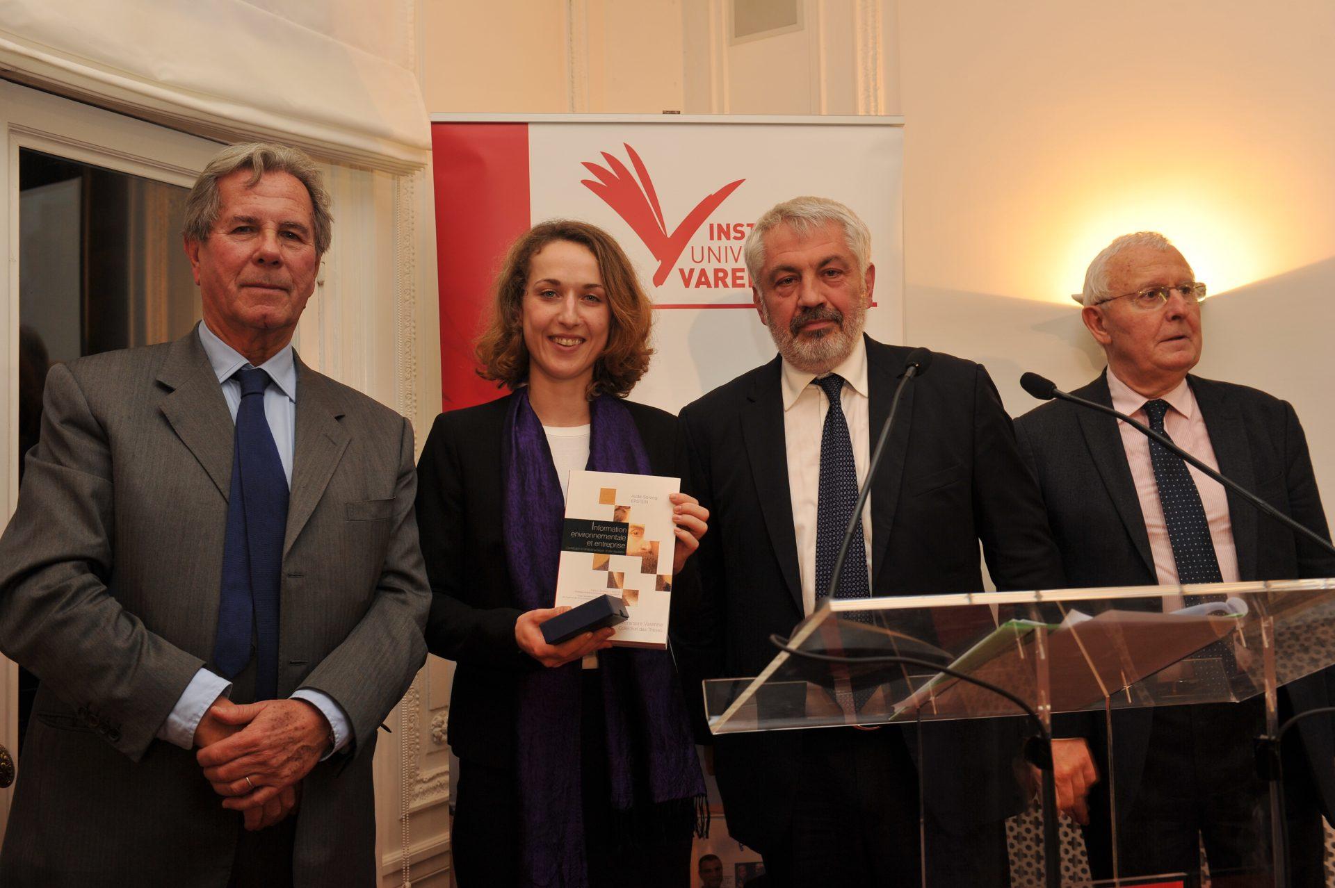 Aude-Solveig Epstein, Lauréate dans la catégorie Droit privé