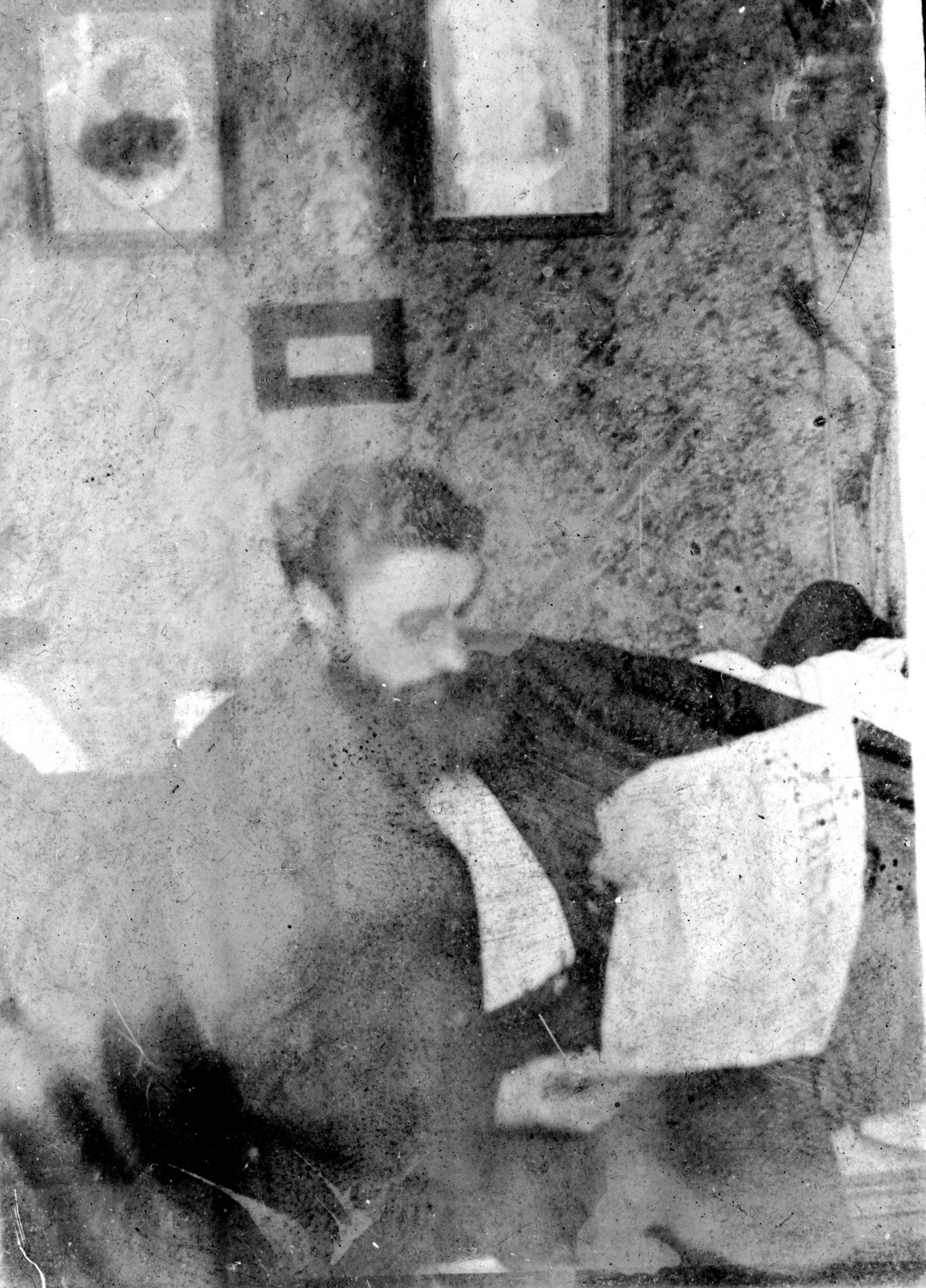 Alexandre Varenne lisant