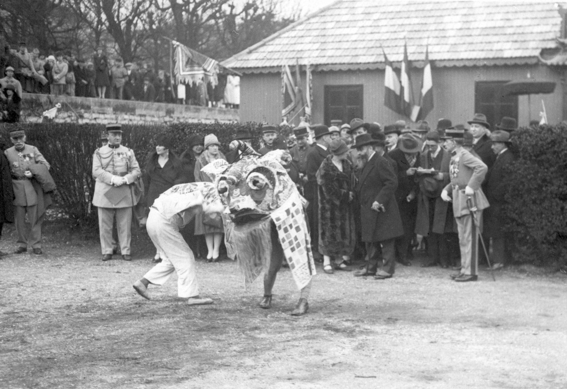 Inauguration du foyer - Val de Grâce, 1927