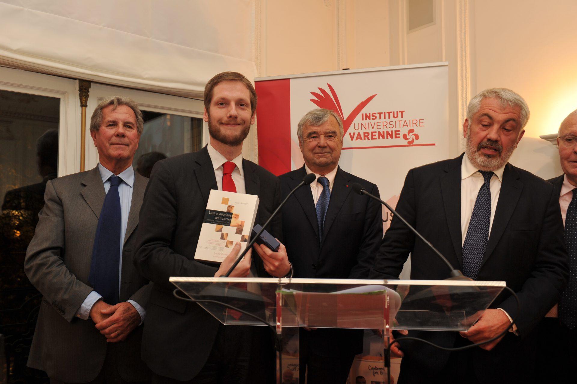 Patrick Barban, Lauréat dans la catégorie droit privé des activités économiques et des coopératives financières