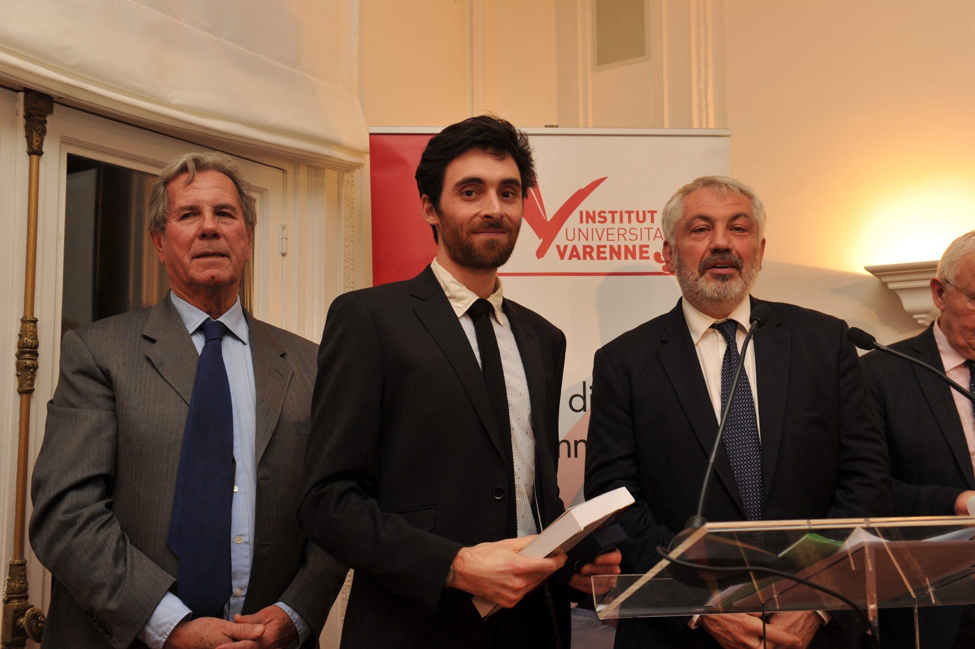 Antoine Basset, Lauréat dans la catégorie Théorie générale et philosophie du droit