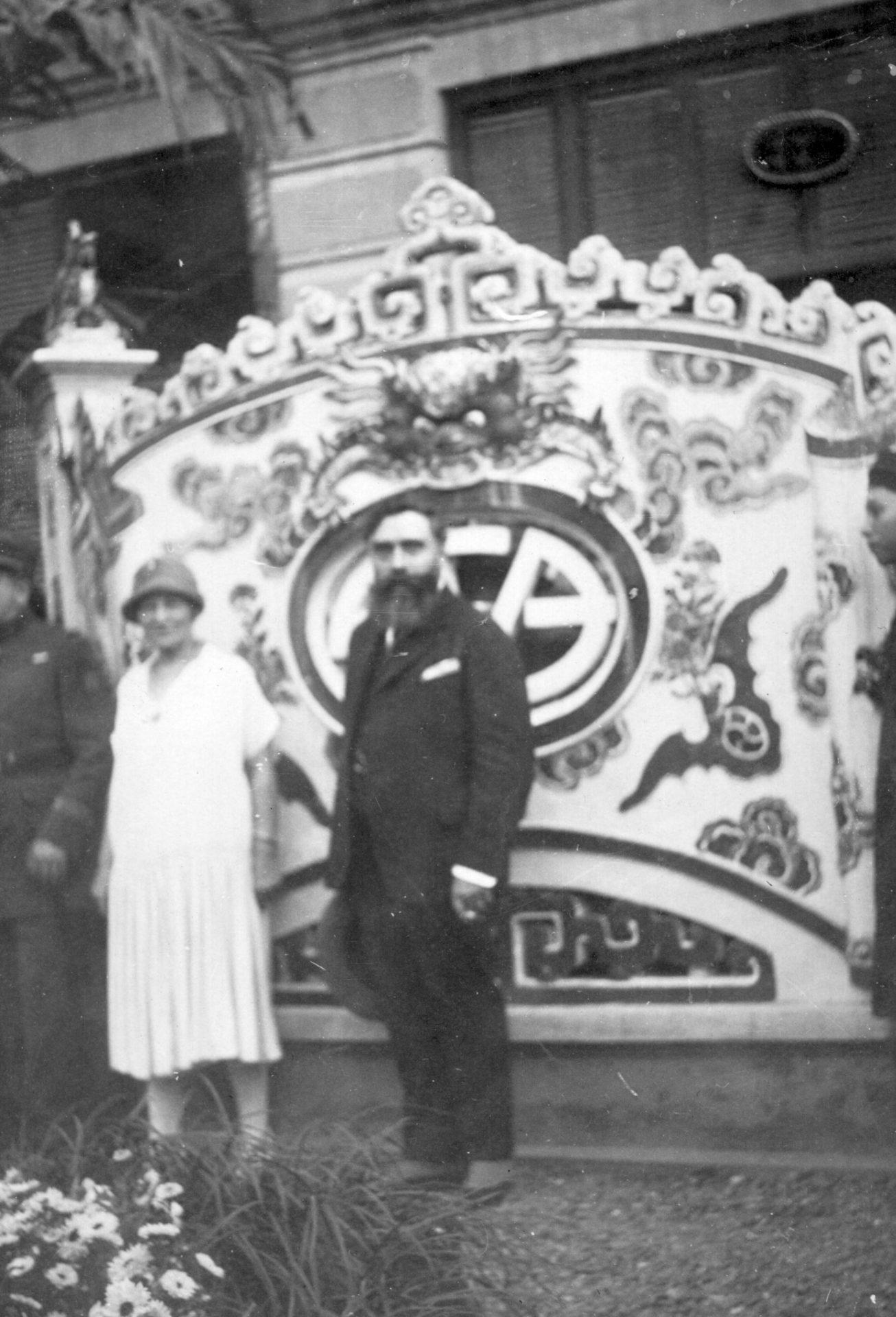 Alexandre Varenne - Foyer - Hanoï - 17 Janvier 1926