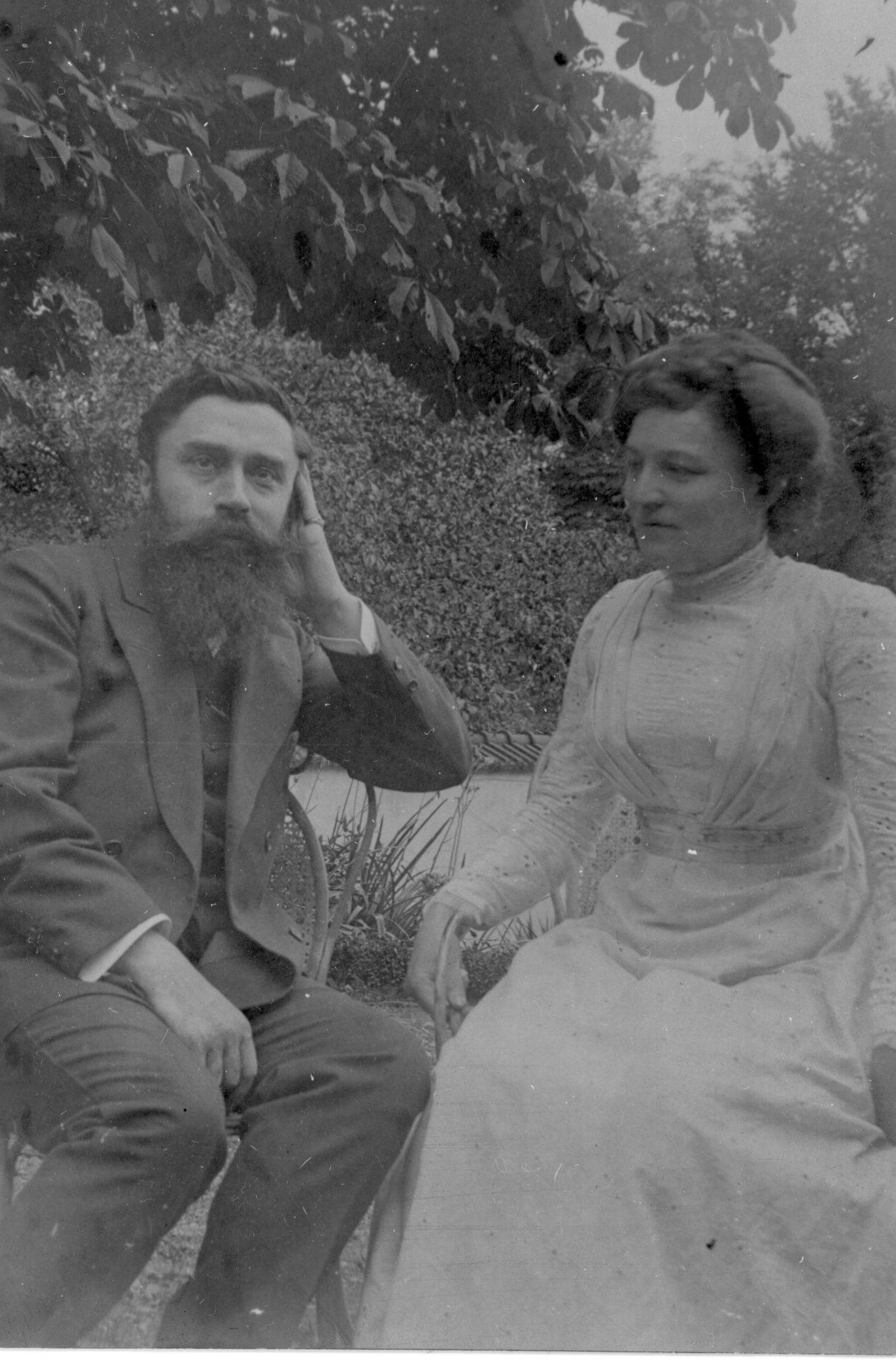 Alexandre Varenne et une femme
