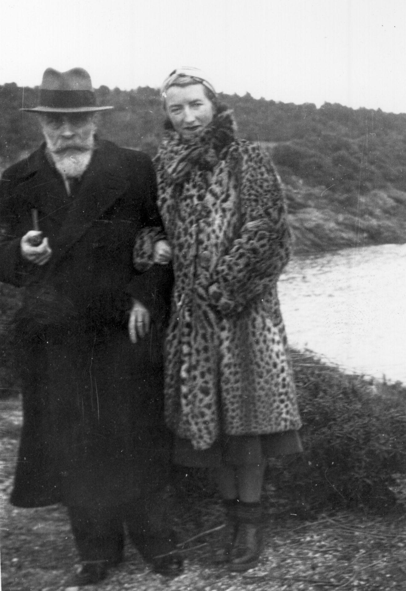 Alexandre Varenne et Marguerite Varenne