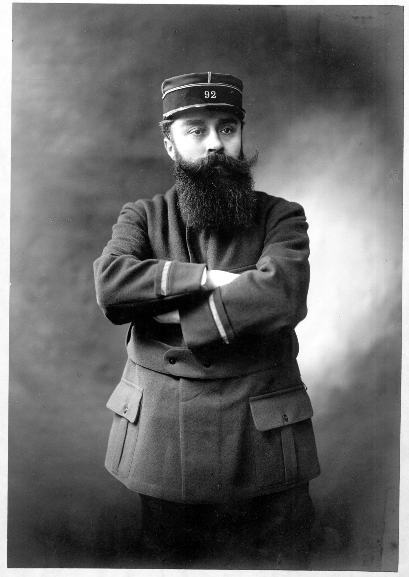 Portrait d'Alexandre Varenne. Crédit: Henri Manuel, Paris