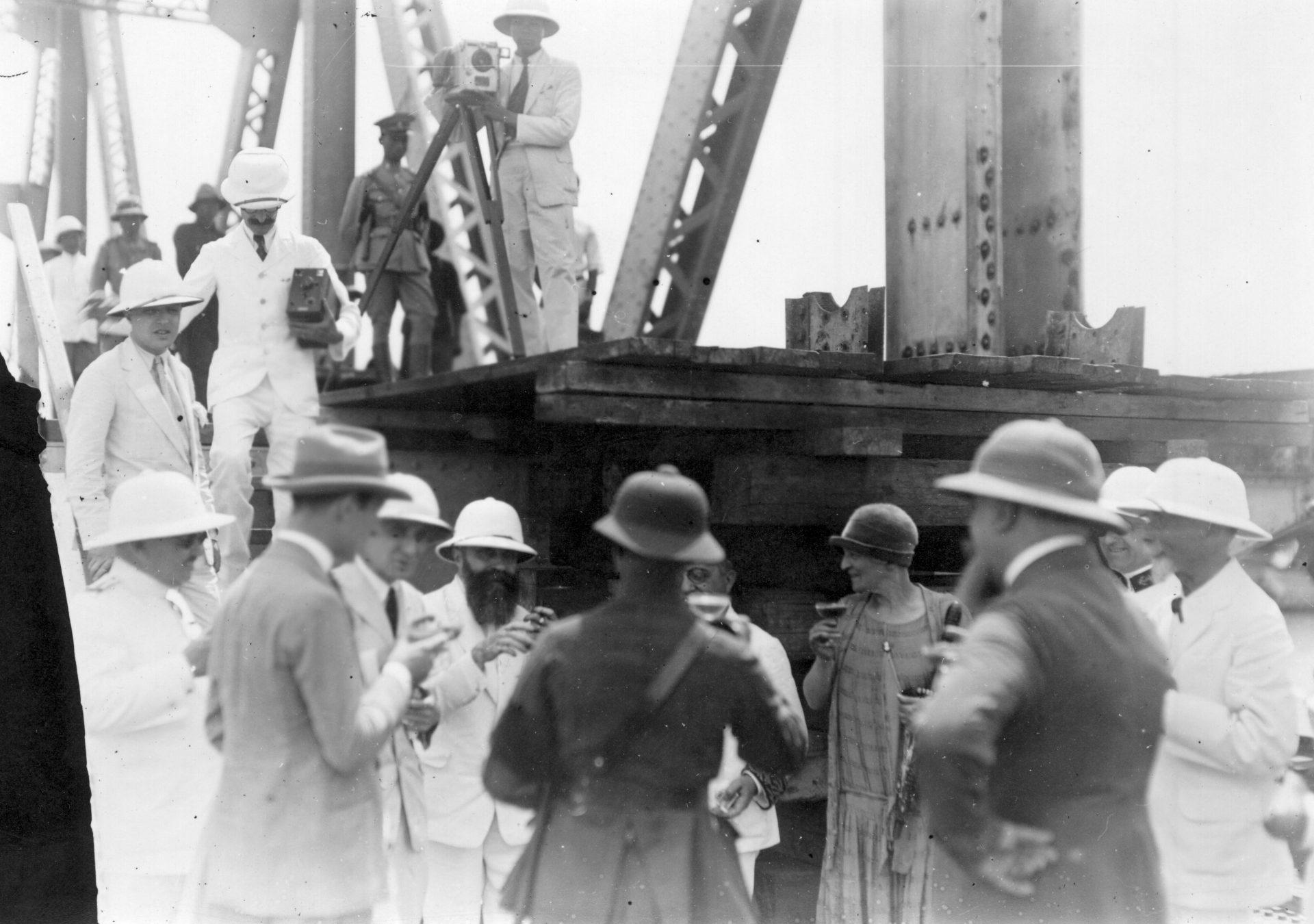 Alexandre Varenne - Pont Rama VI - Bangkok - 29 Août 1926