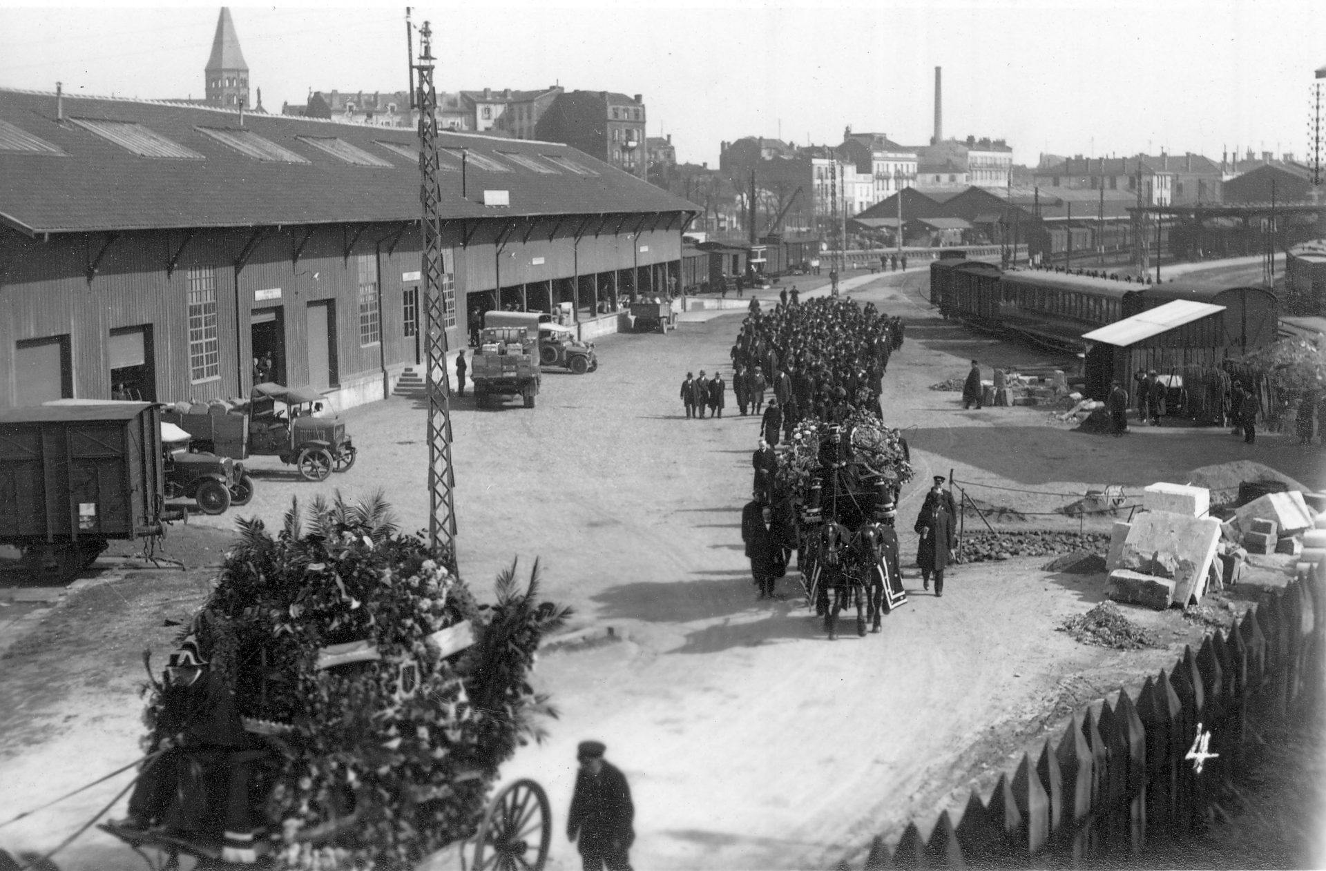 Enterrement Alexandre Varenne - Février 1947, Clermont-Ferrand