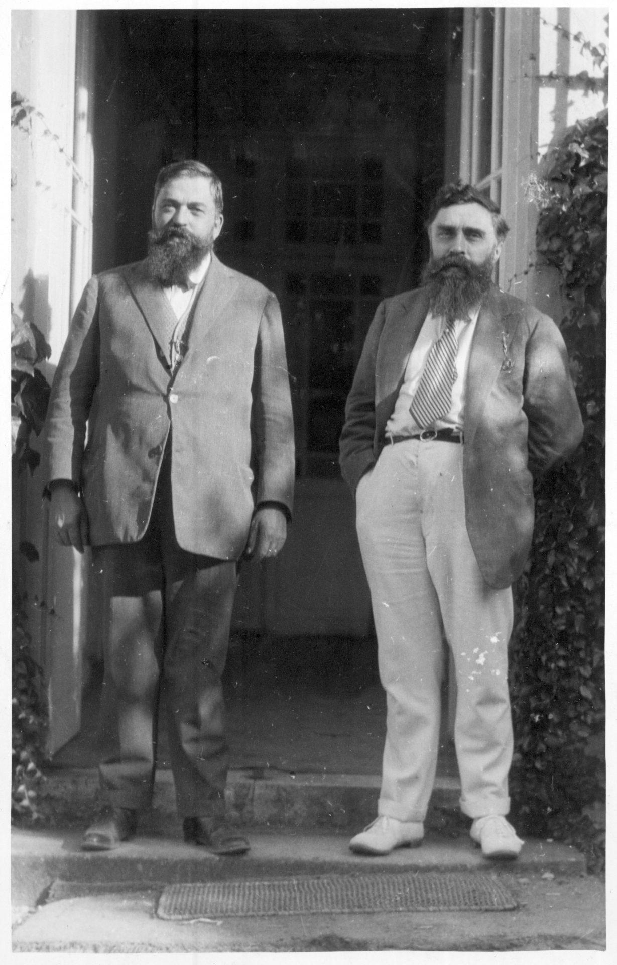 Jean Varenne, son frère, et Alexandre Varenne (de gauche à droite)