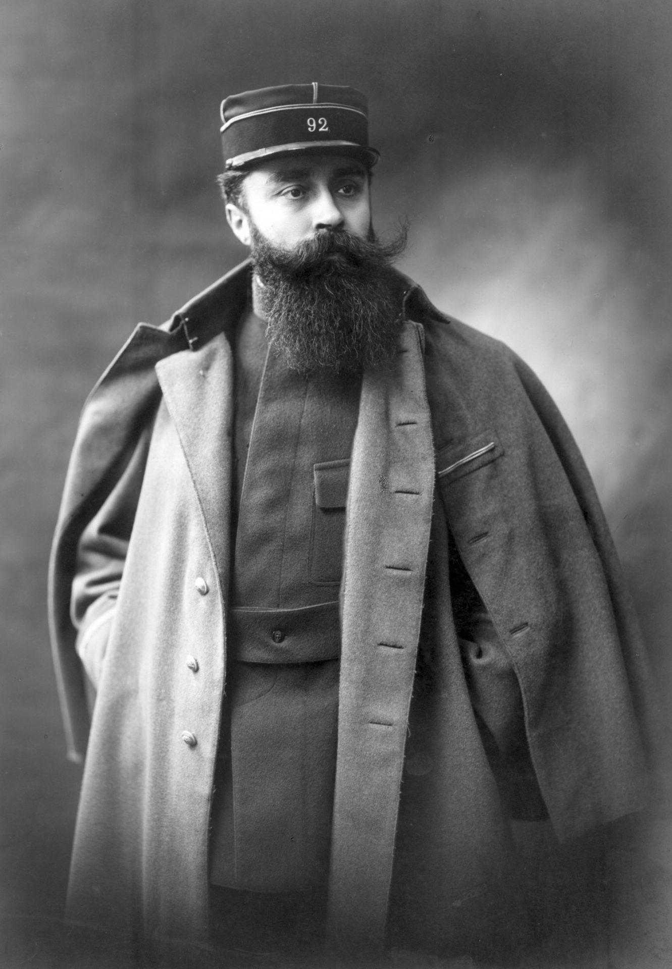 Portrait Alexandre Varenne Militaire. Crédit: Henri Manuel