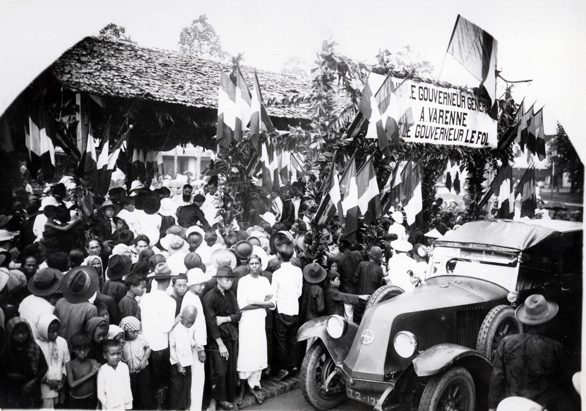 Tournée en 1926