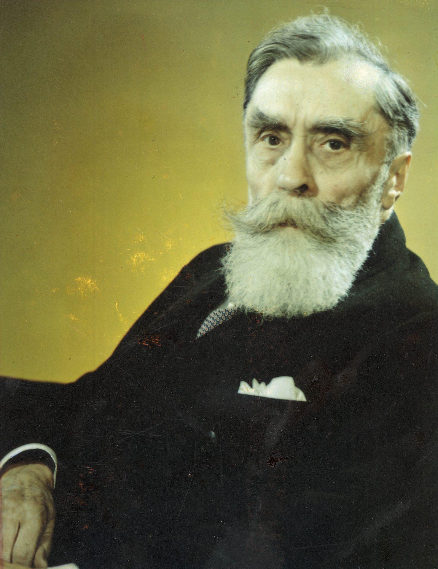 Portrait d'Alexandre Varenne, Président Général de l'Association Nationale pour l'Indochine Française