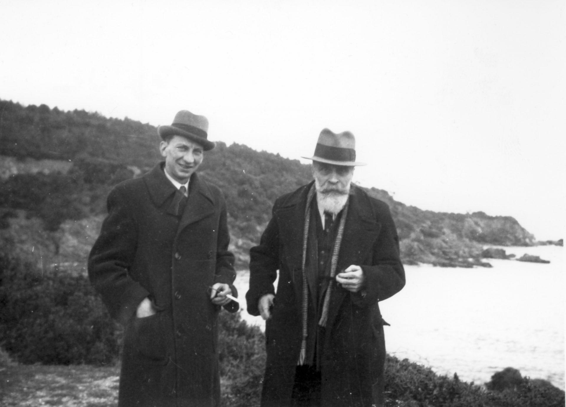 Francisque Fabre et Alexandre Varenne