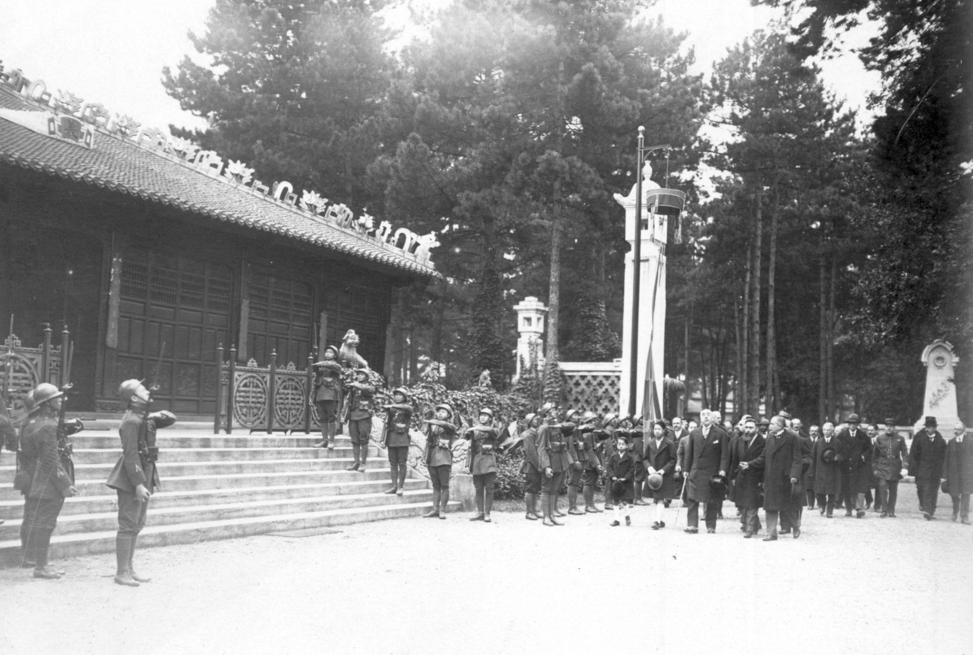 Cérémonie du souvenir indochinois - 08 Octobre 1925