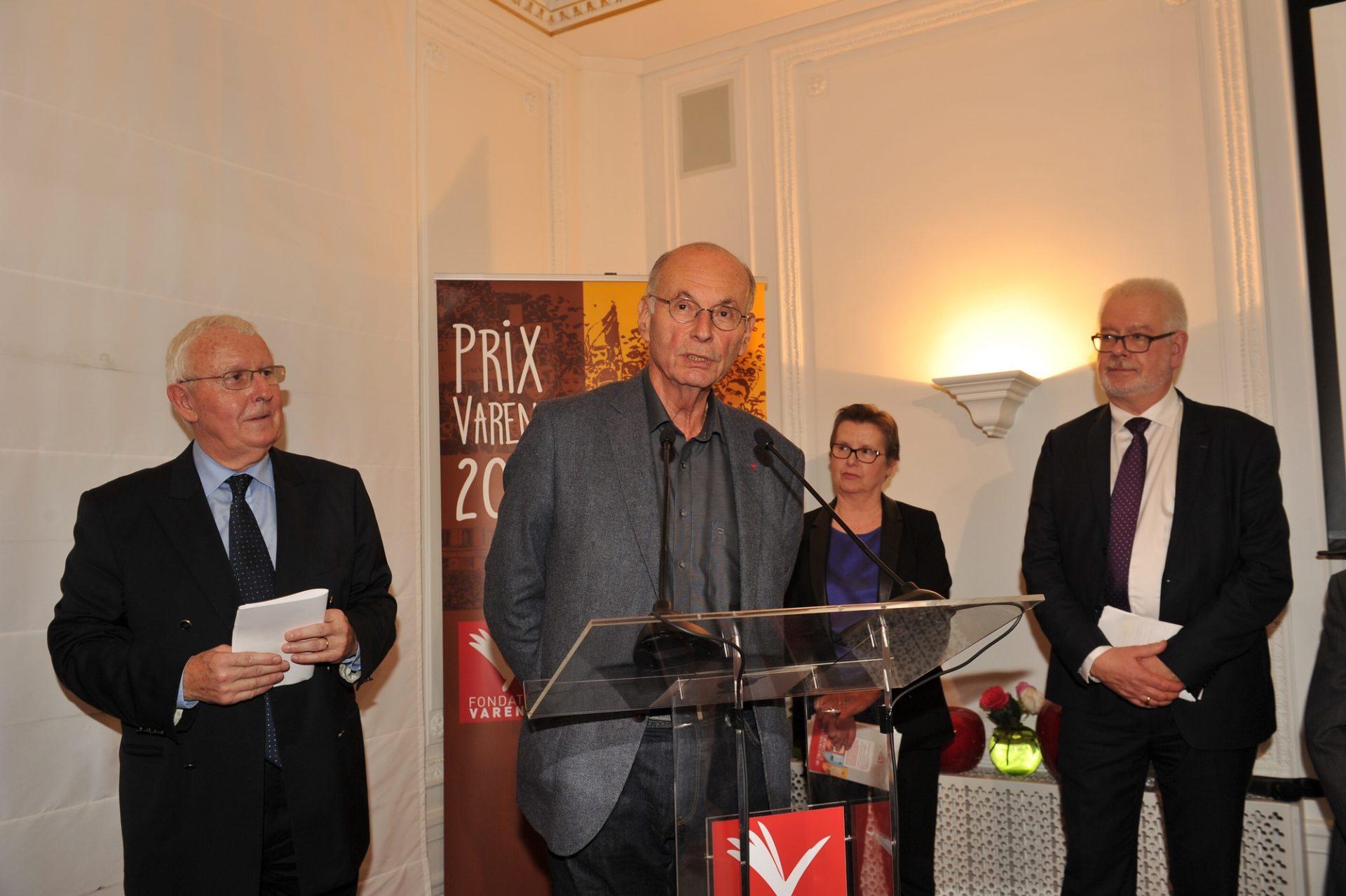Boris Cyrulnick, neuro-psychiatre, président de la 27e cérémonie