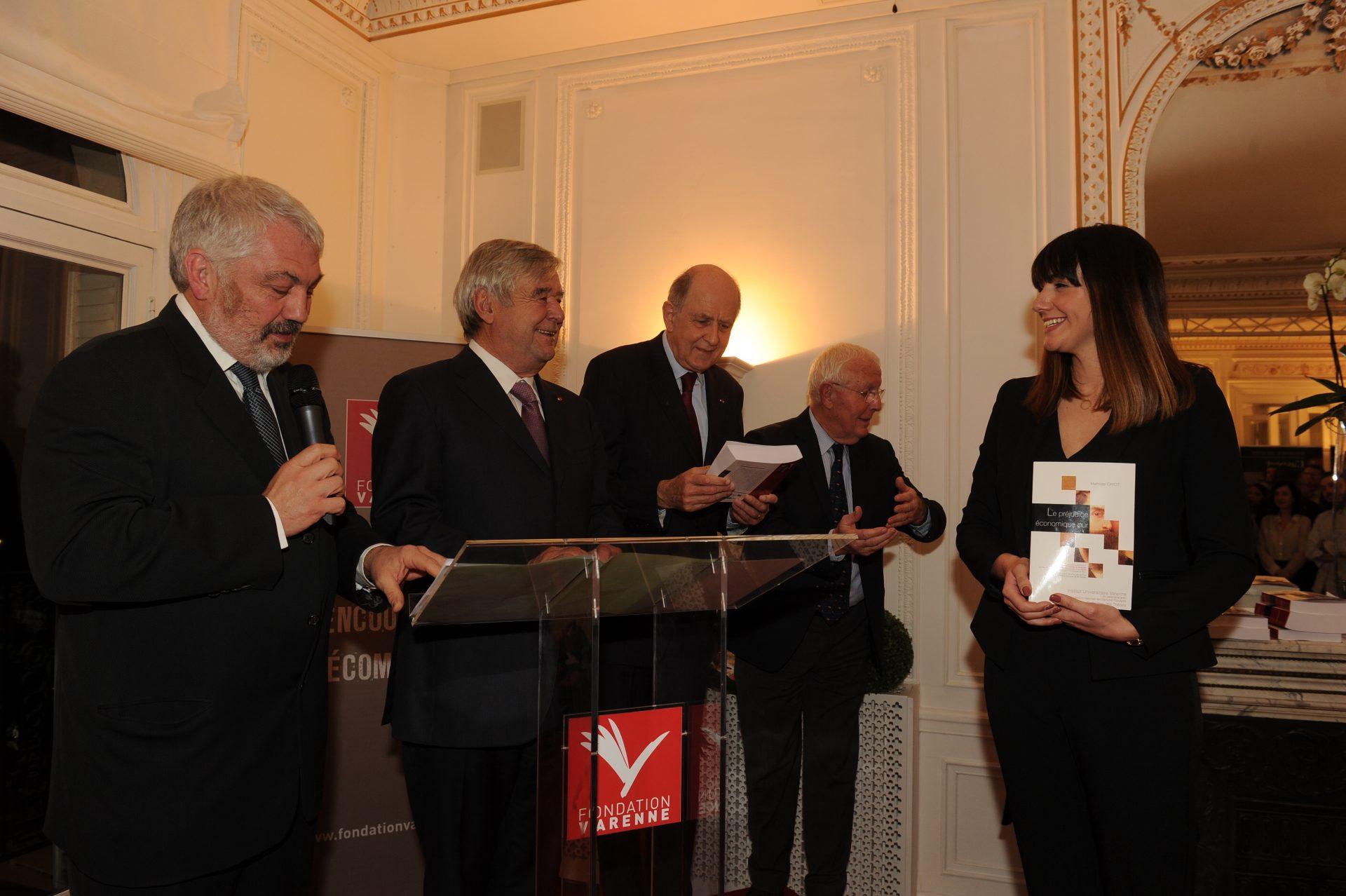 Mathilde Cayot, lauréate de la catégorie Droit privé des activités économiques et des coopératives financières