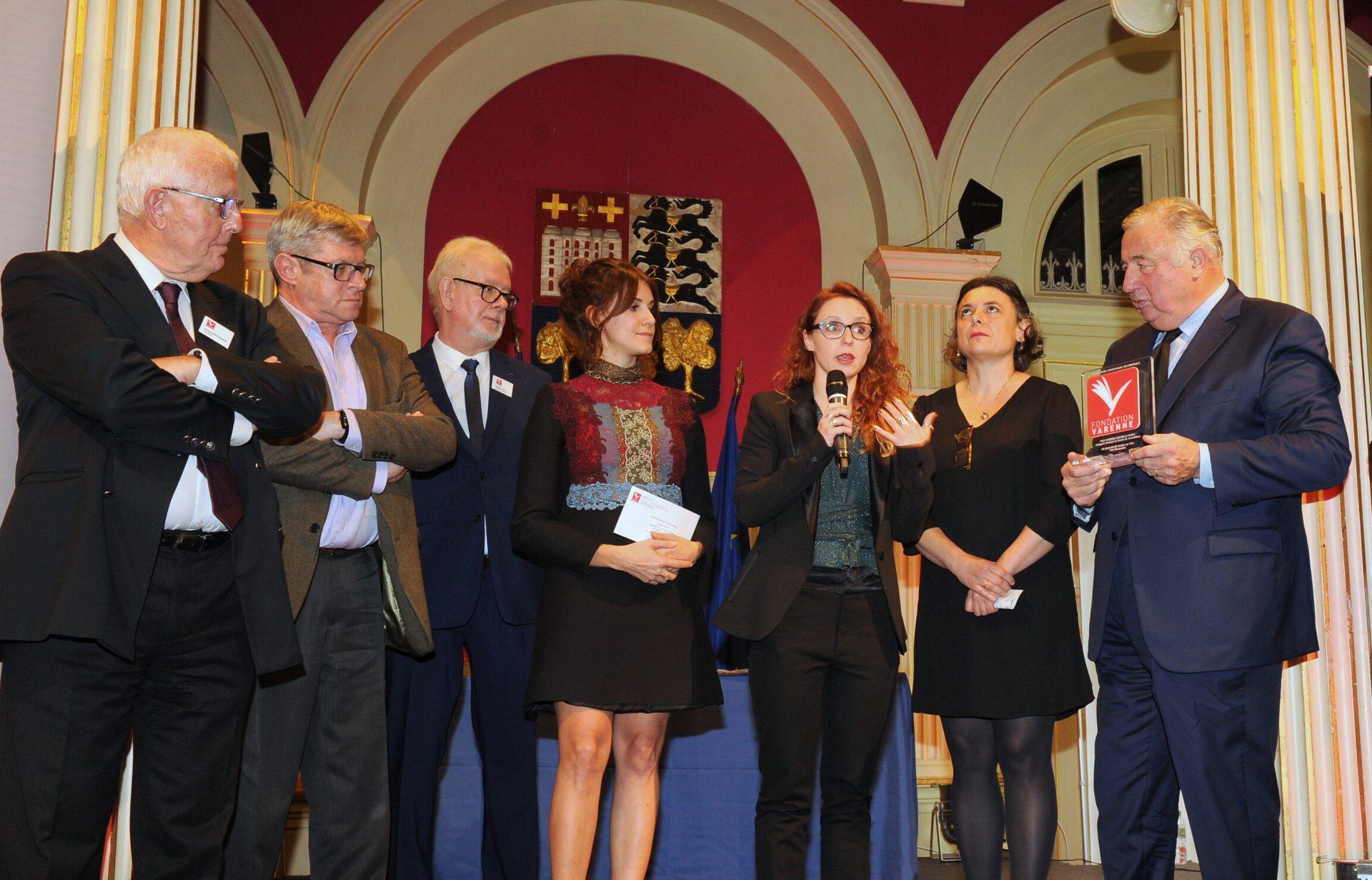Prix École de journalisme radio à Bettina de GUGLIELMO de l'ESJ Pro de Montpellier.