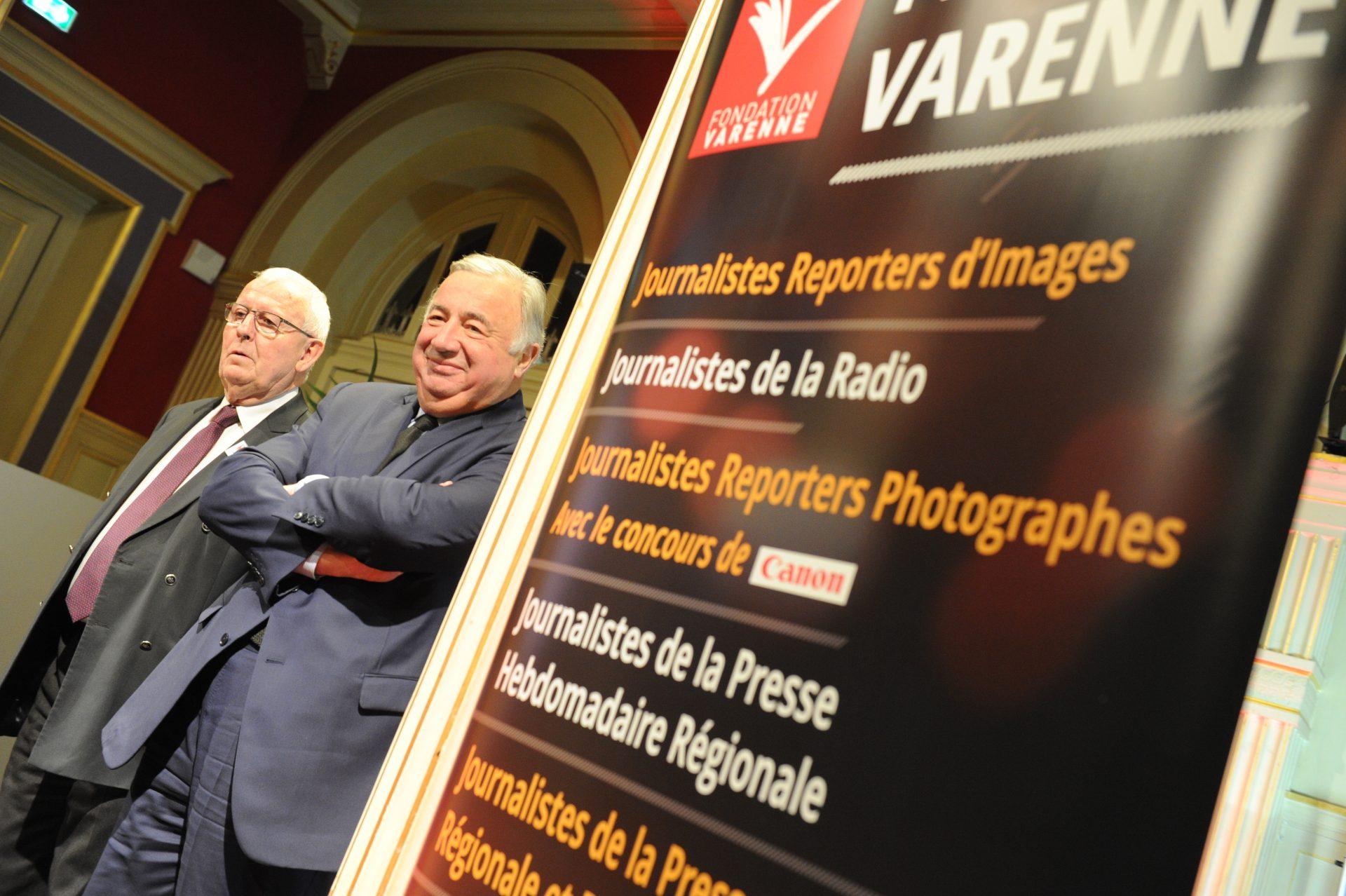 Prix Varenne 2018, Daniel POUZADOUX et Gérard LARCHER