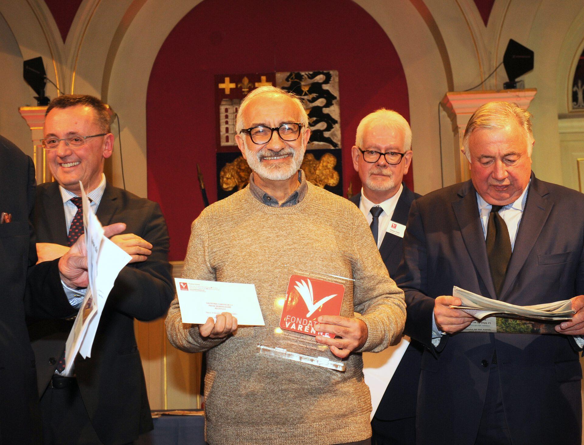 Grand Prix VARENNE Journalistes de la PHR à Thierry TCHUKRIEL du TARN LIBRE