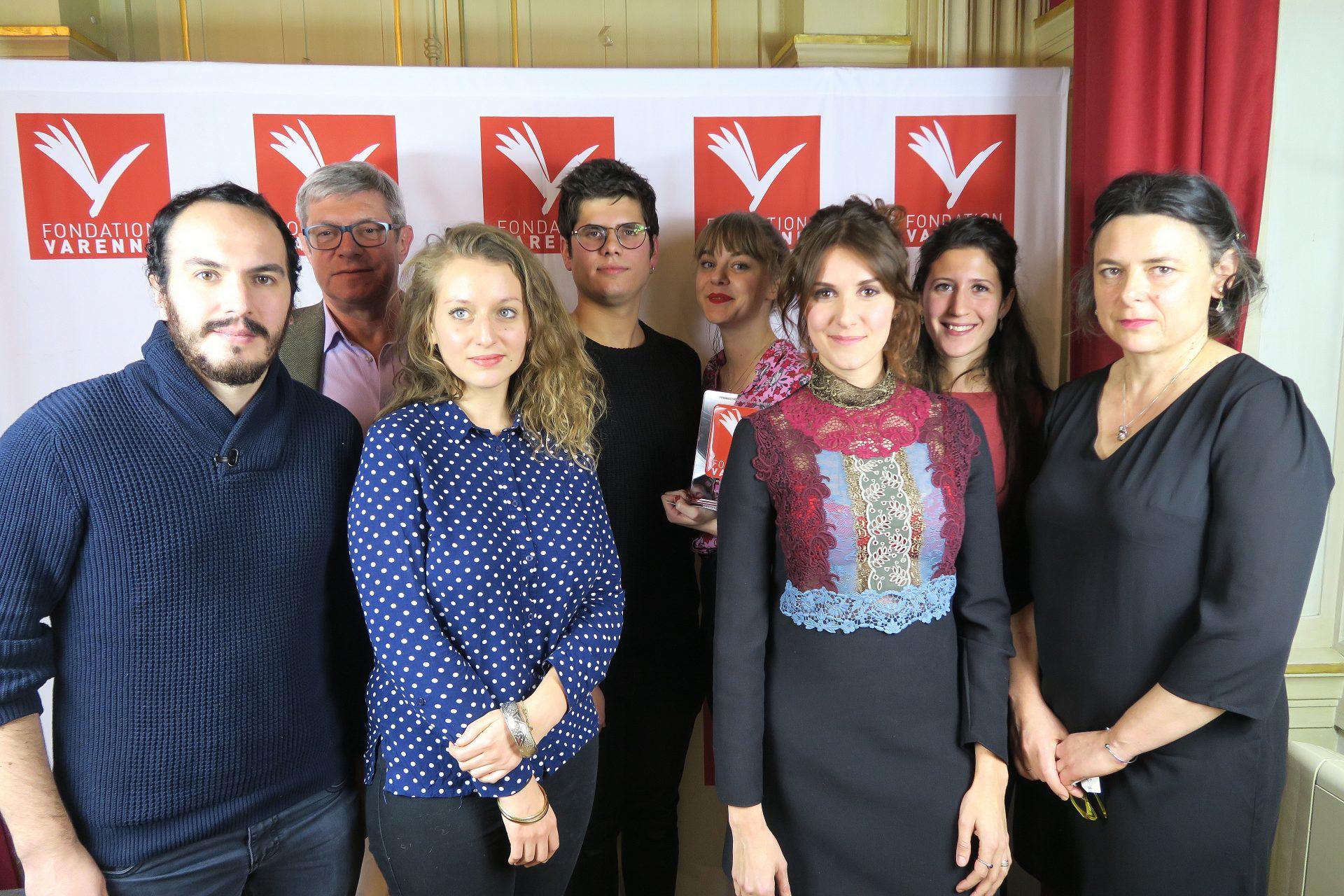 Prix Magazine d'Ecoles remis aux étudiants de la Promo Master 2 2018 institut de Journalisme Bordeaux Aquitaine.