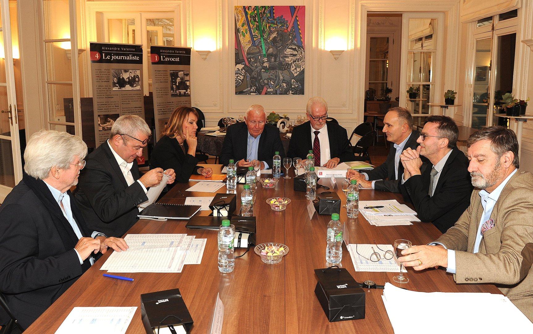 Le jury Presse quotidienne nationale