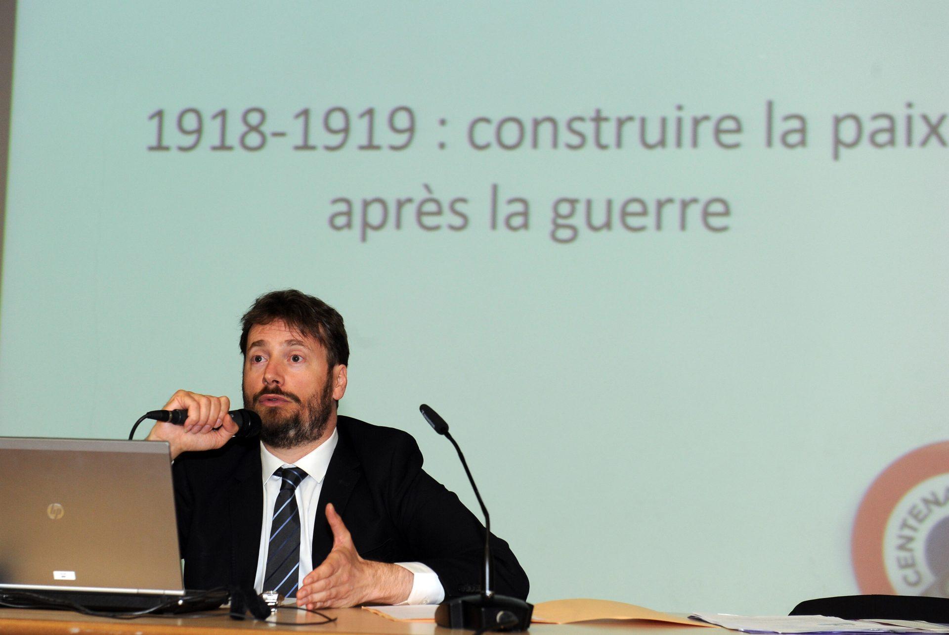 Clermont-Fd - Alexandre Lafon, conseiller pédagogique et historique de la Mission du Centenaire