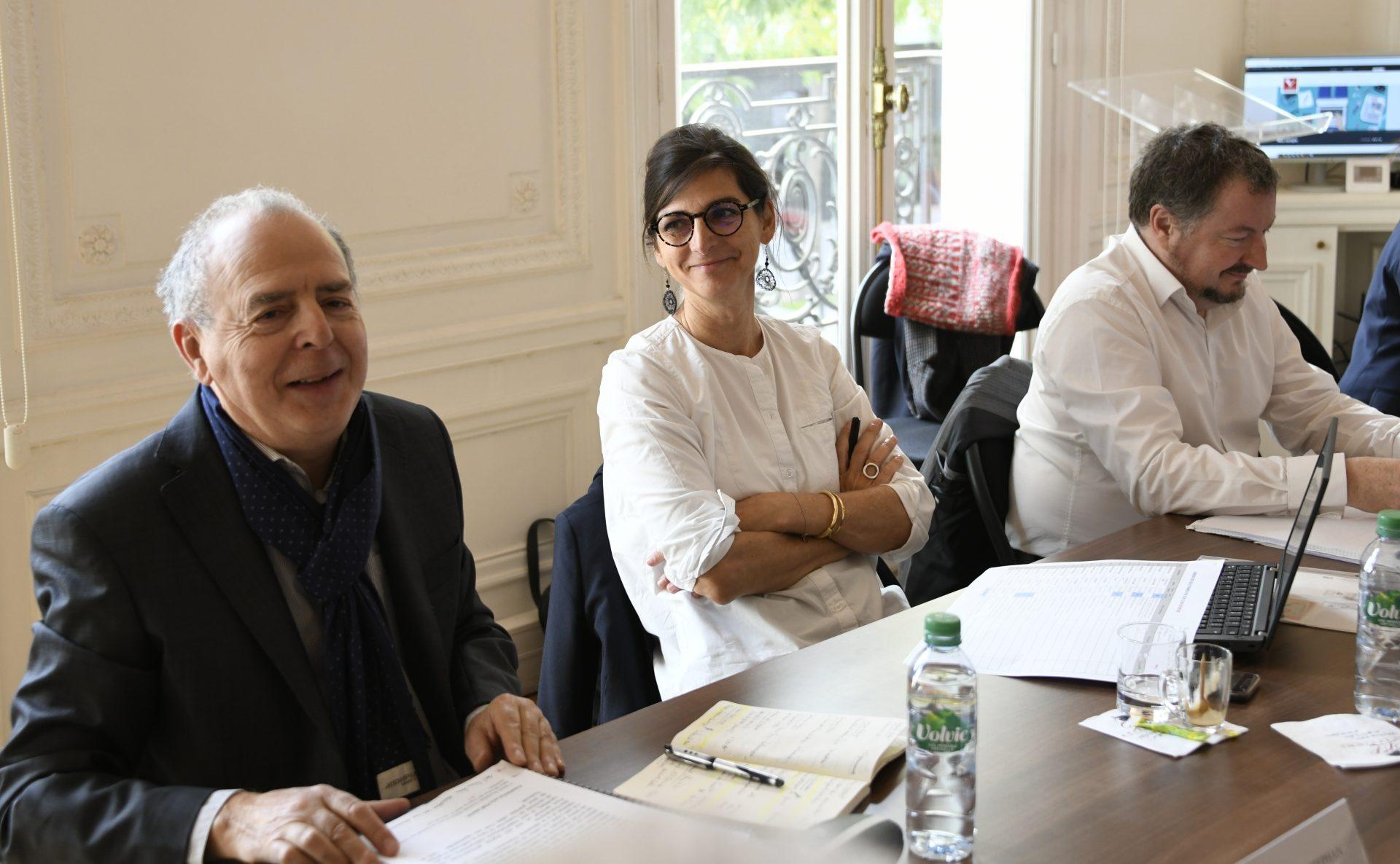 Jury PQR 2019 Bernard SREPHAN, Sophie BECHEREL et Xavier ANTOYE (Le Progrès)