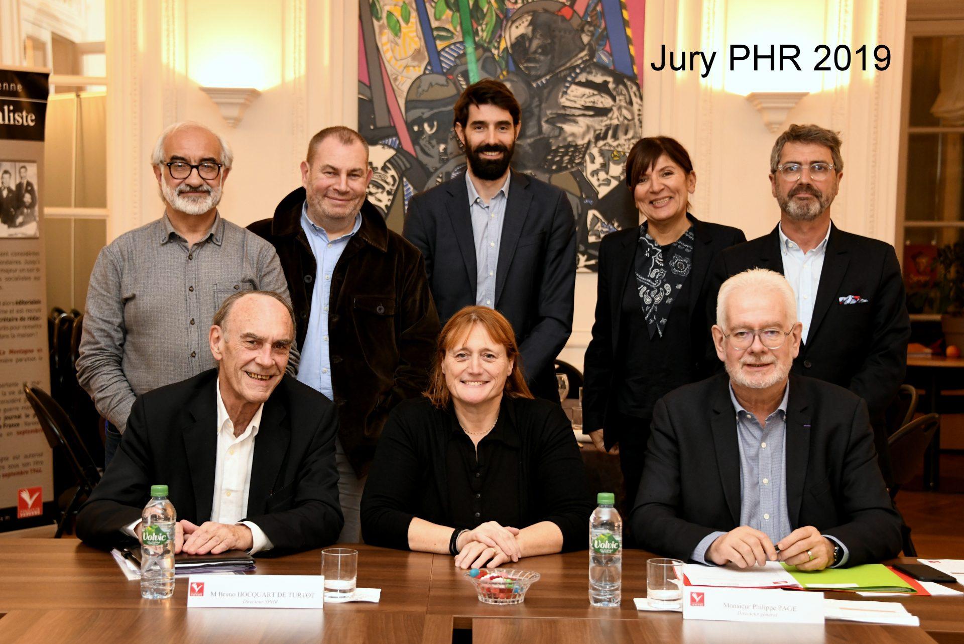 Le jury Presse hebdomadaire régionale 2019