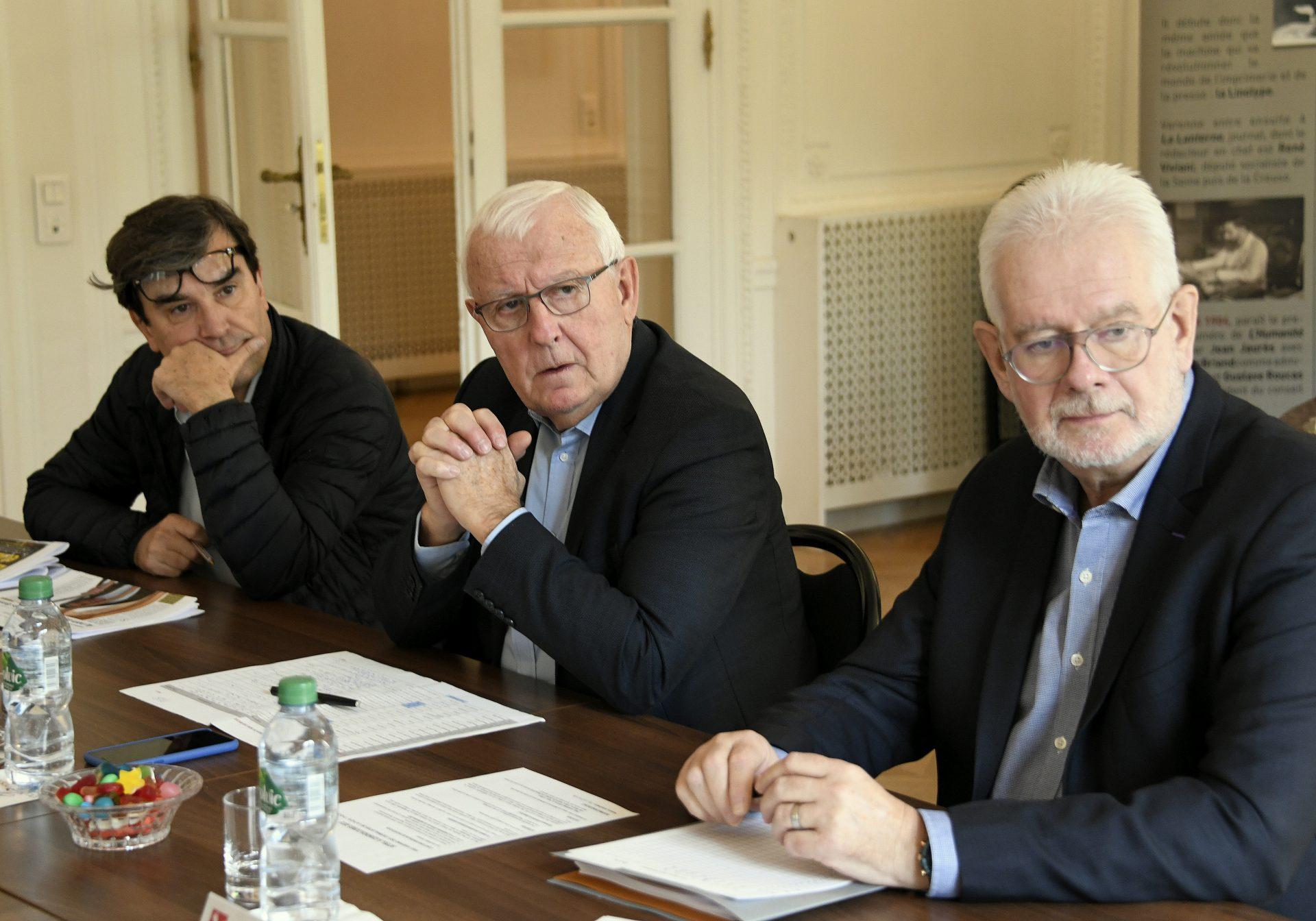 Jury PQR 2019 Georges MALBRUNOT, Daniel POUZADOUX et Philippe PAGE