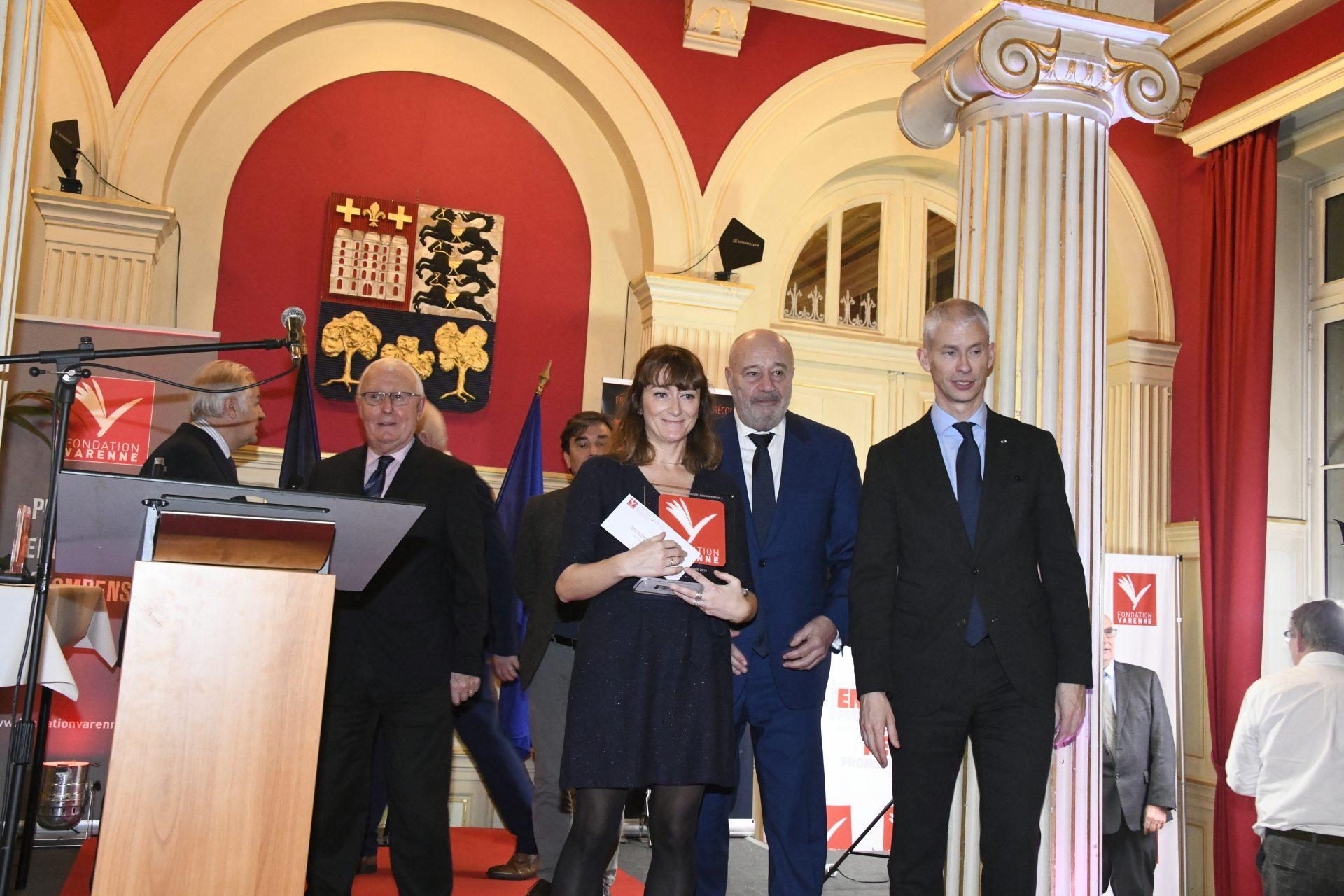 Delphine Tanguy (La Provence) Grand Prix Varenne Presse quotidienne Régionale