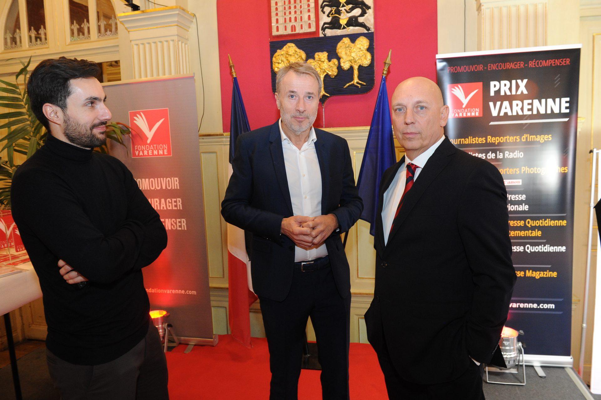 Franck Seguin lauréat photo presse nationale et Rock Lorente Canon France