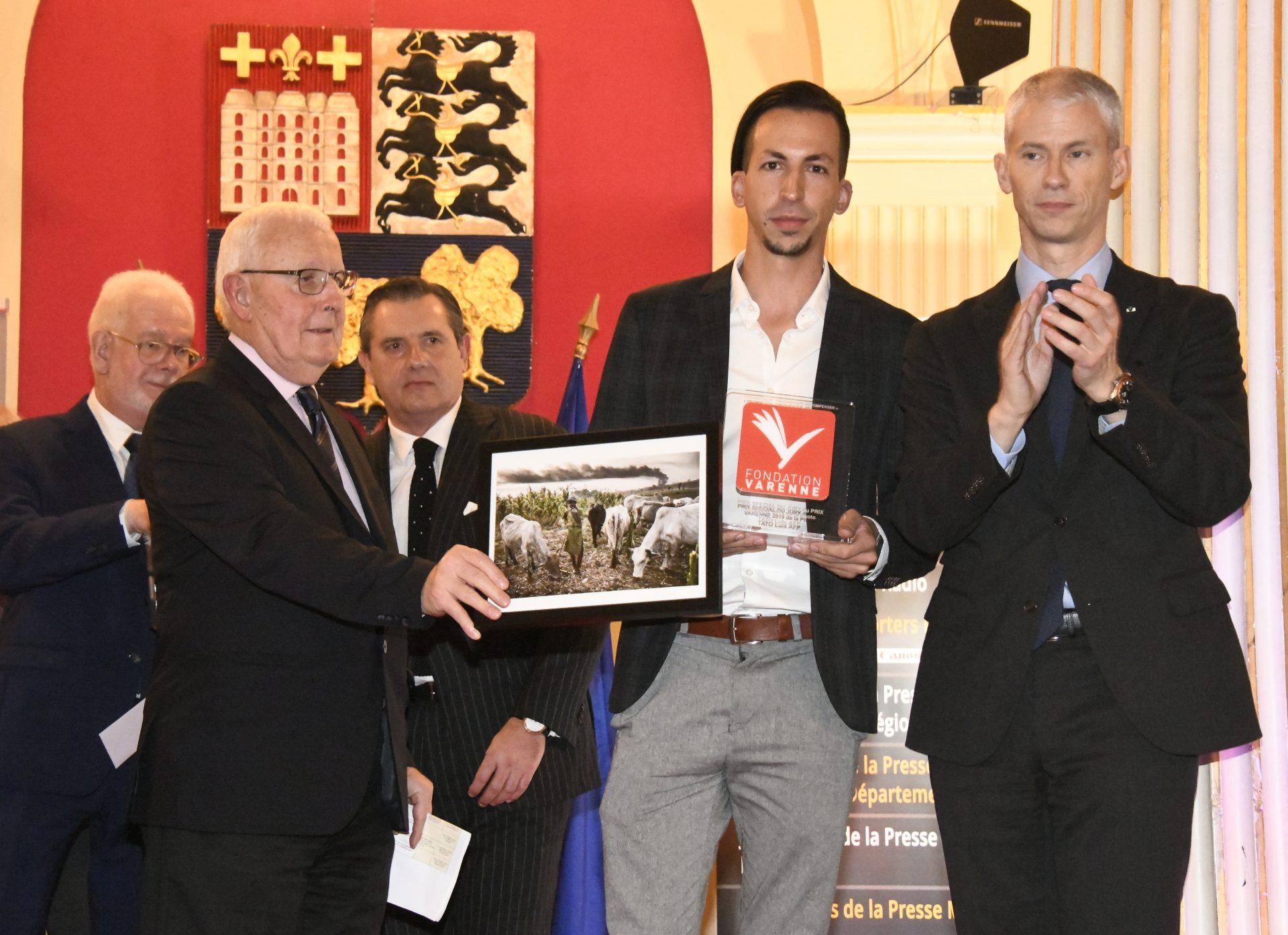 Prix spécial du jury à Luis TATO de l'AFP