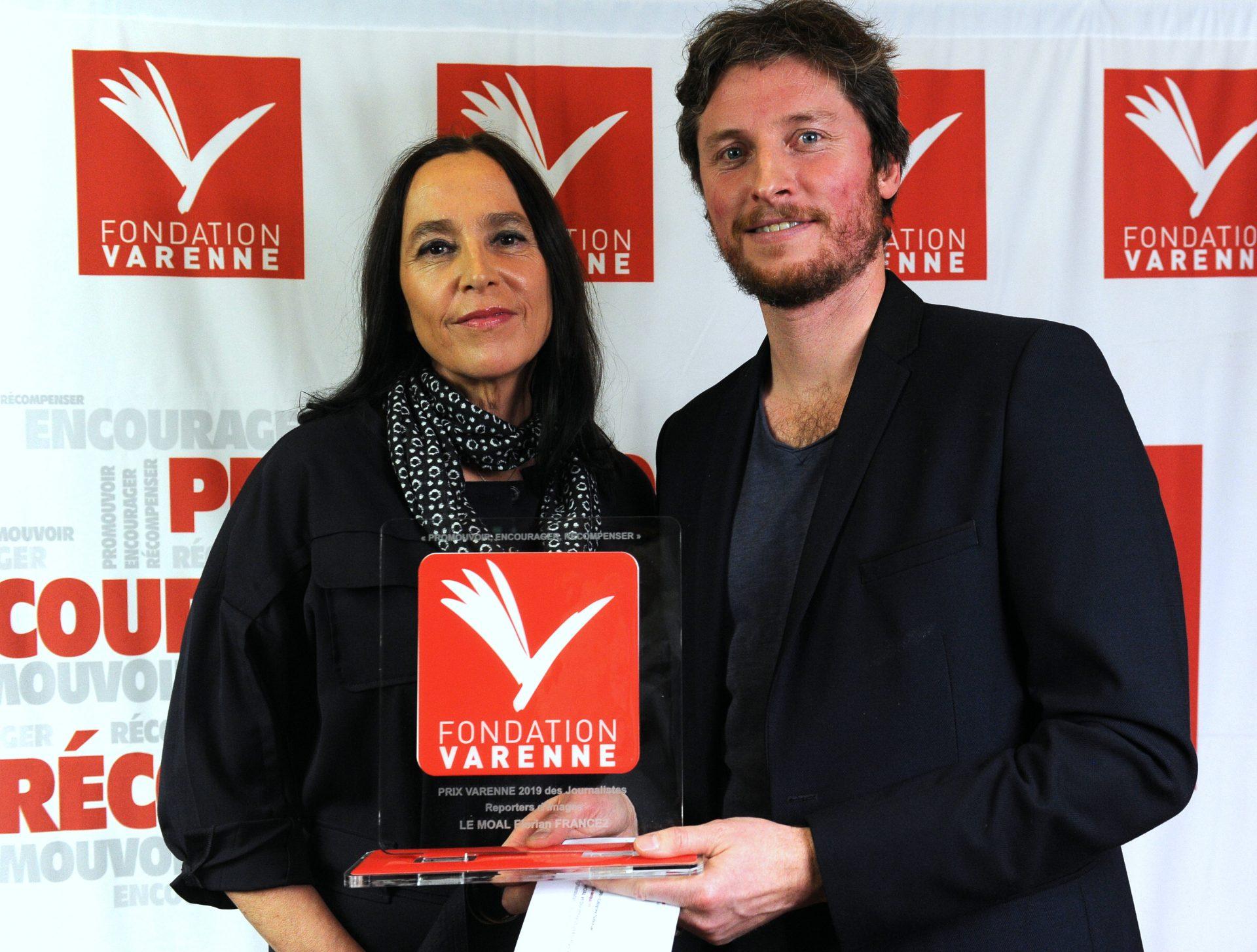 Grand Prix Varenne à Florian LE MOAL et Dorothée Olliéric de France 2