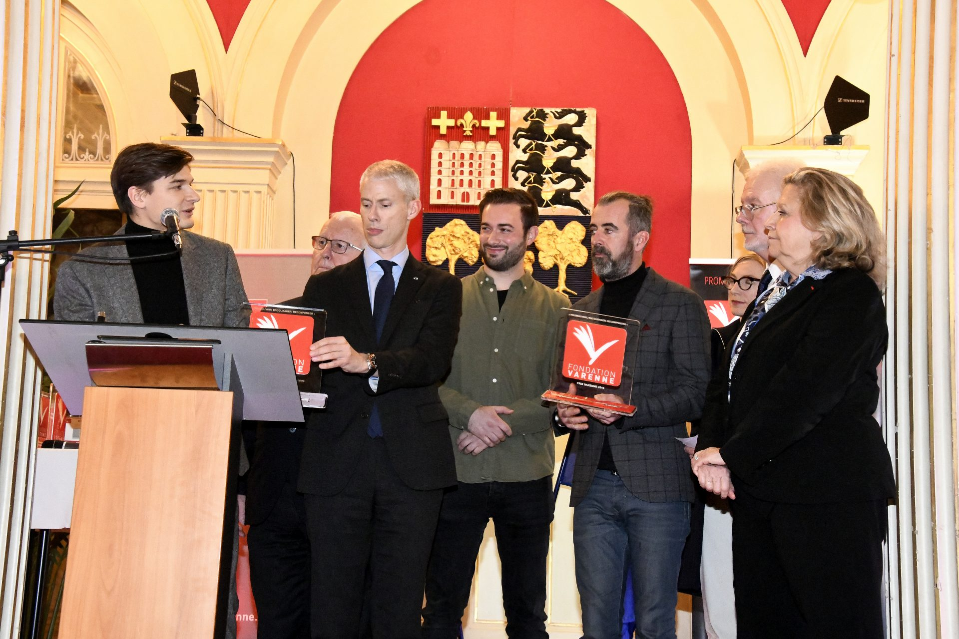 Grand Prix Varenne JRI ex-aequo Michael GUILHEUX et David SALMON de TF1