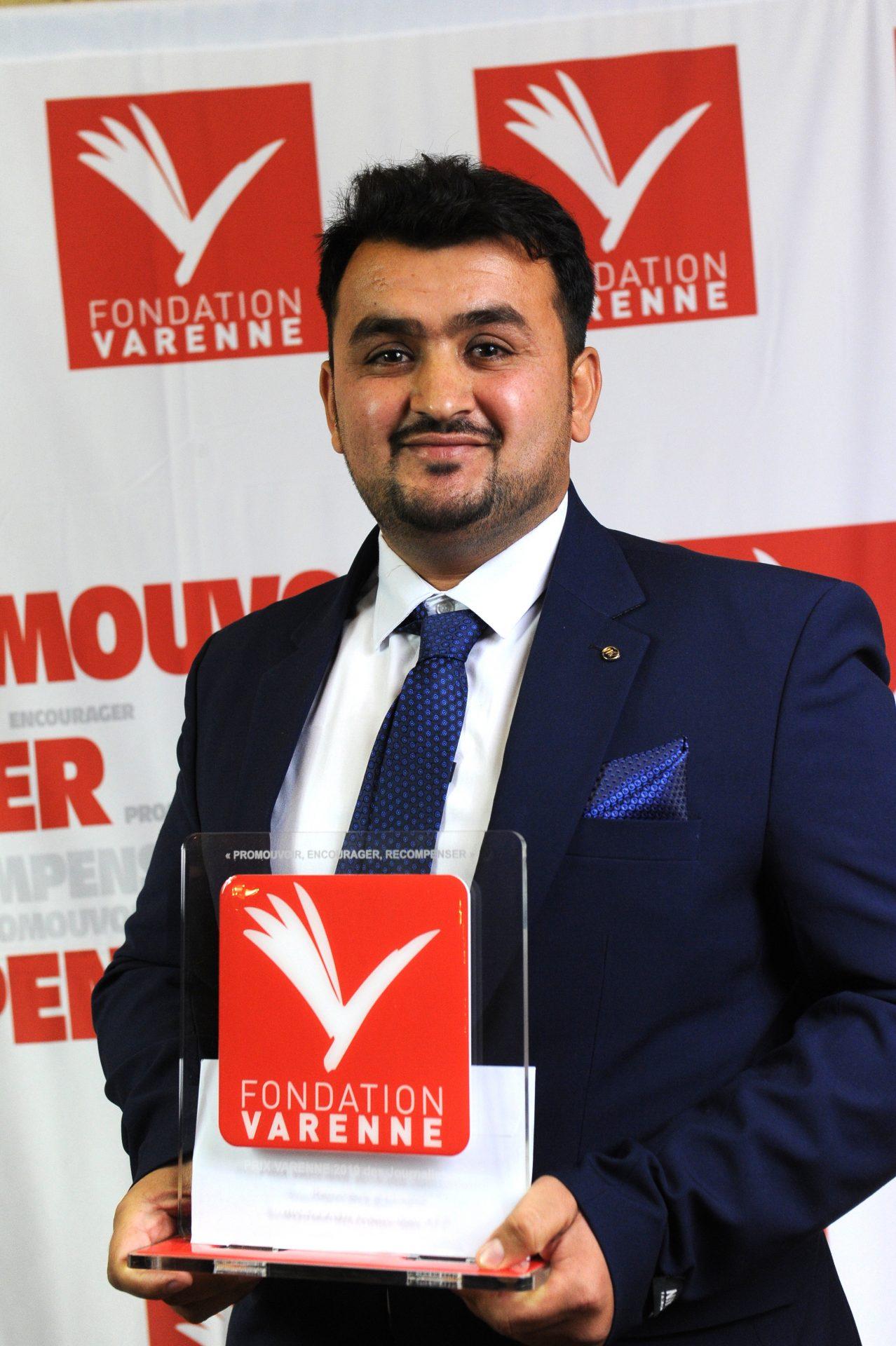 Prix Varenne journalises reporters d'images (Catégorie Internationale) à Noorullah SHIRZADA de l'AFP